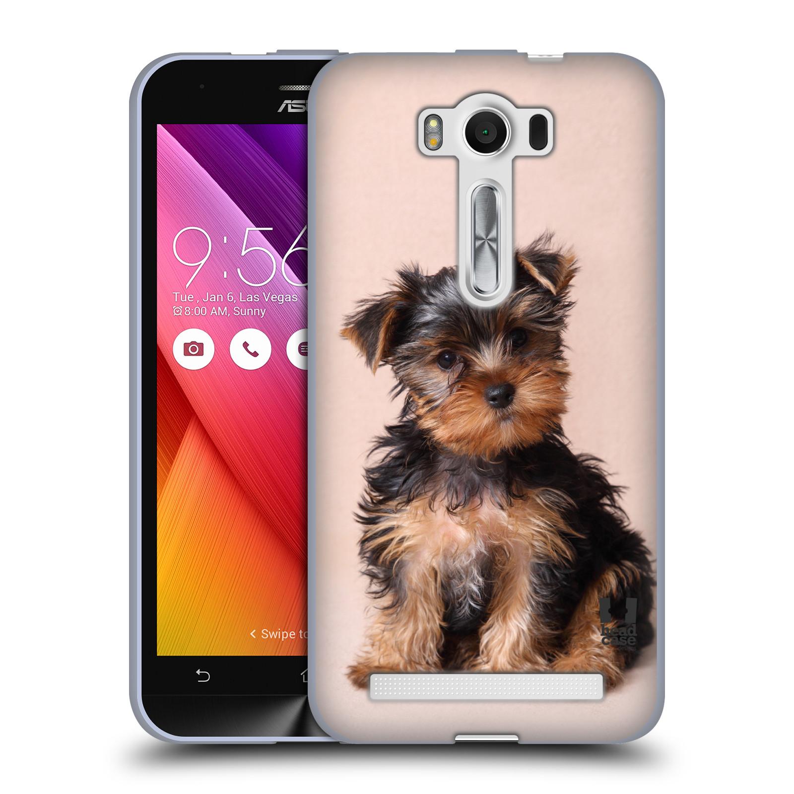 "Silikonové pouzdro na mobil Asus ZenFone 2 Laser ZE500KL HEAD CASE YORKŠÍR (Silikonový kryt či obal na mobilní telefon Asus ZenFone 2 Laser ZE500KL s 5"" displejem)"