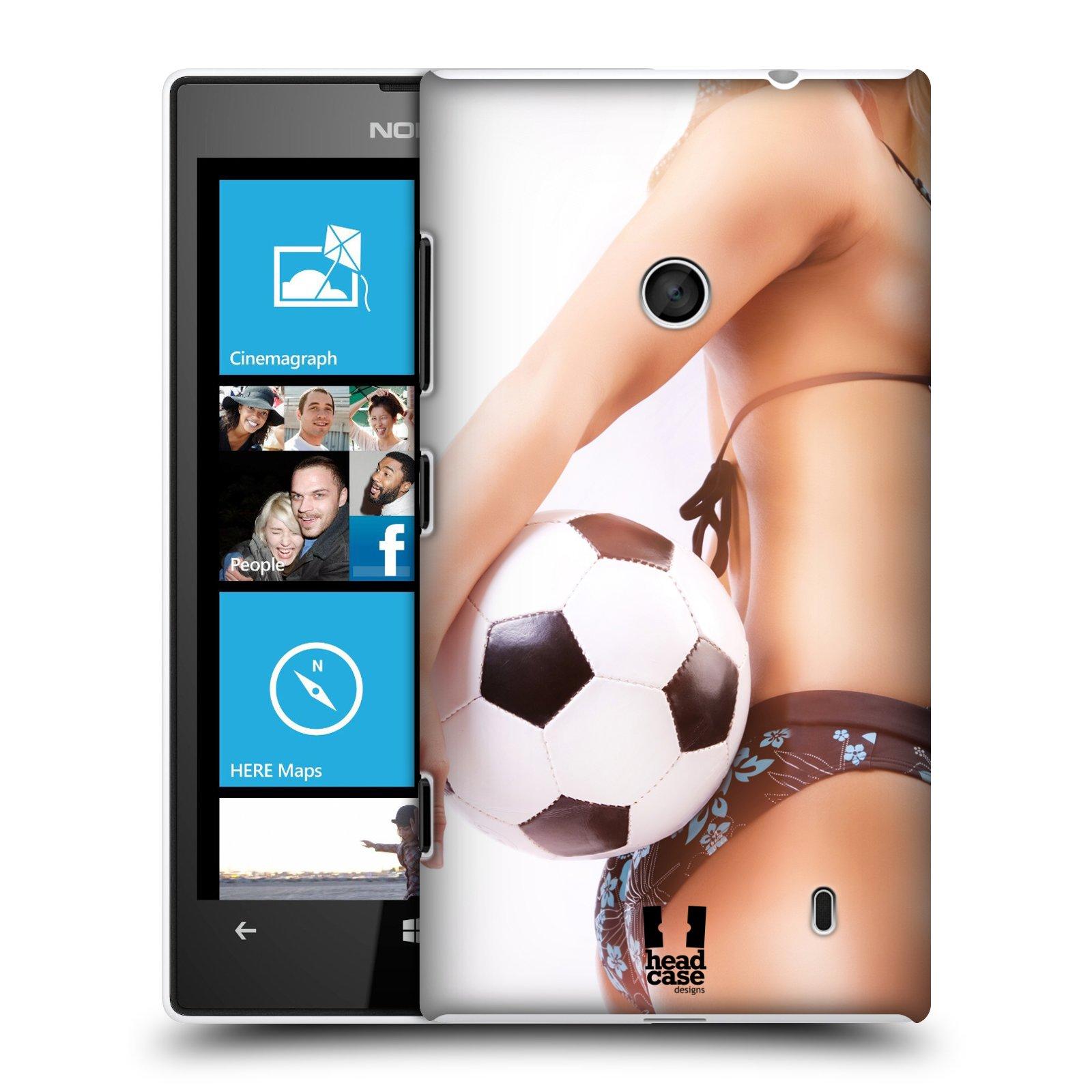 Plastové pouzdro na mobil Nokia Lumia 520 HEAD CASE SEXY ZADEČEK