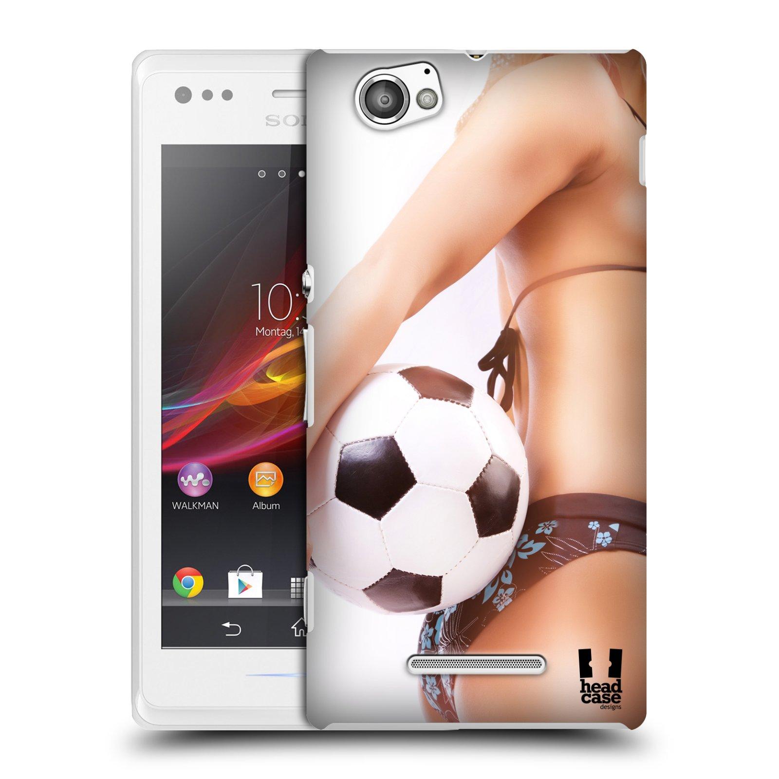Plastové pouzdro na mobil Sony Xperia M C1905 HEAD CASE SEXY ZADEČEK