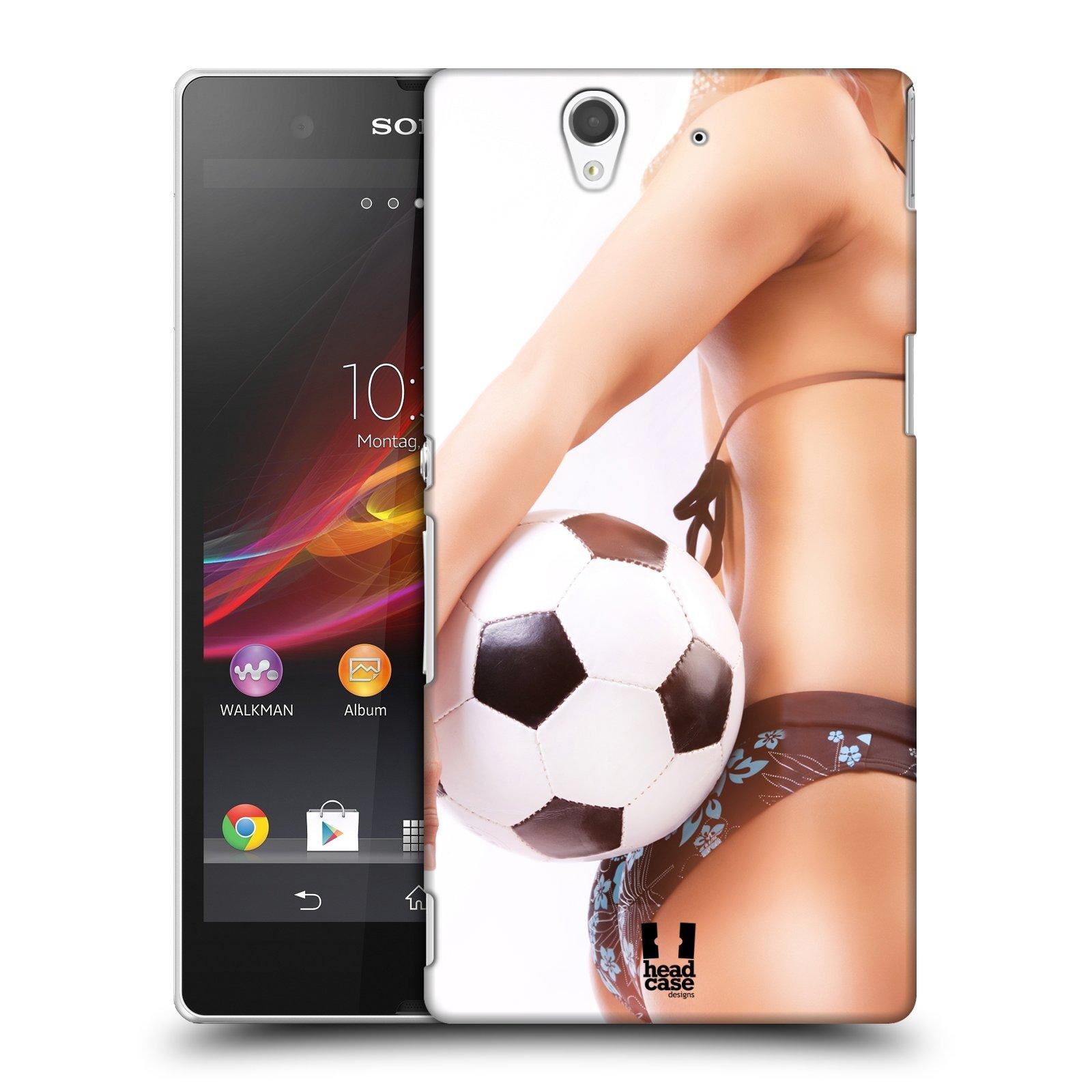 Plastové pouzdro na mobil Sony Xperia Z C6603 HEAD CASE SEXY ZADEČEK