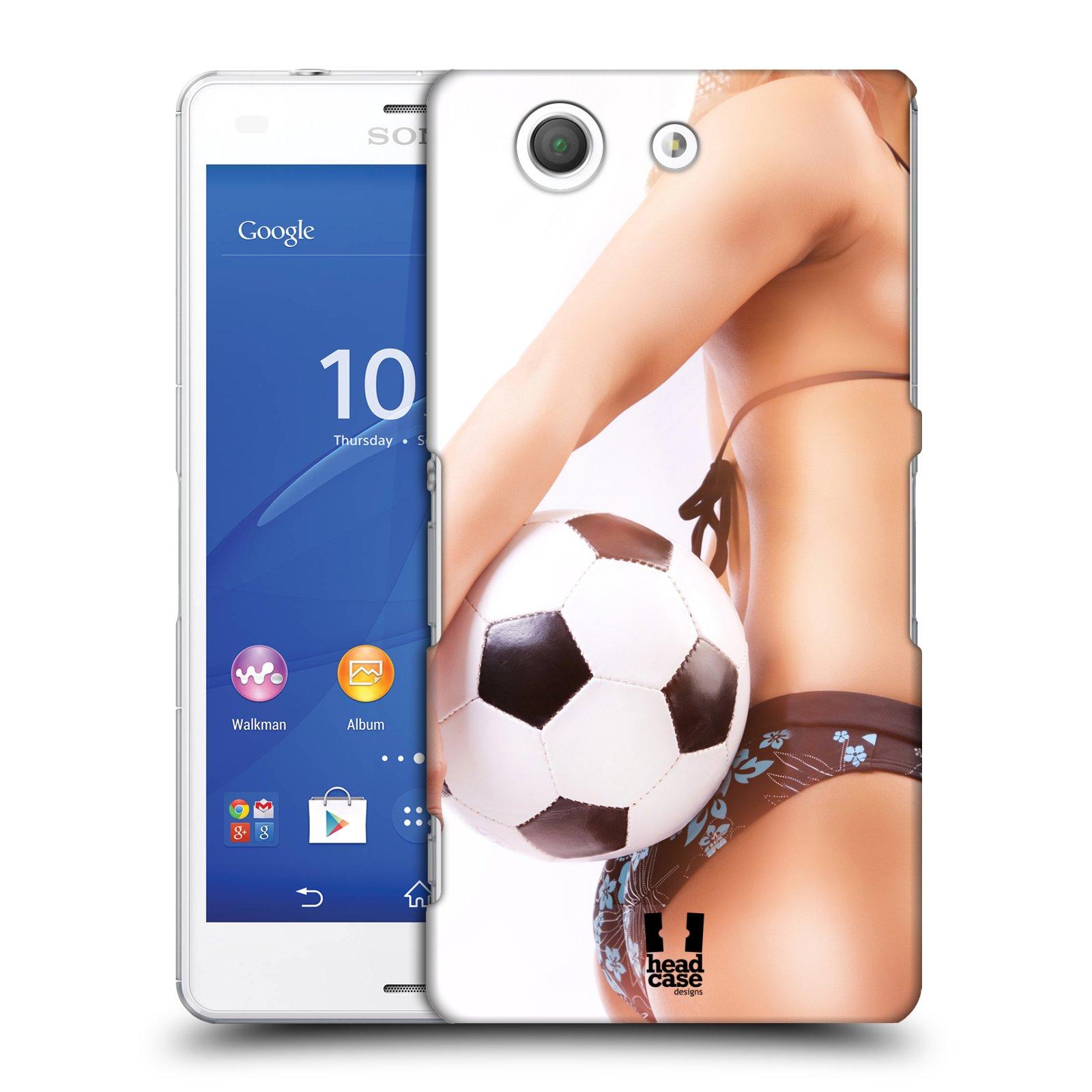 Plastové pouzdro na mobil Sony Xperia Z3 Compact D5803 HEAD CASE SEXY ZADEČEK