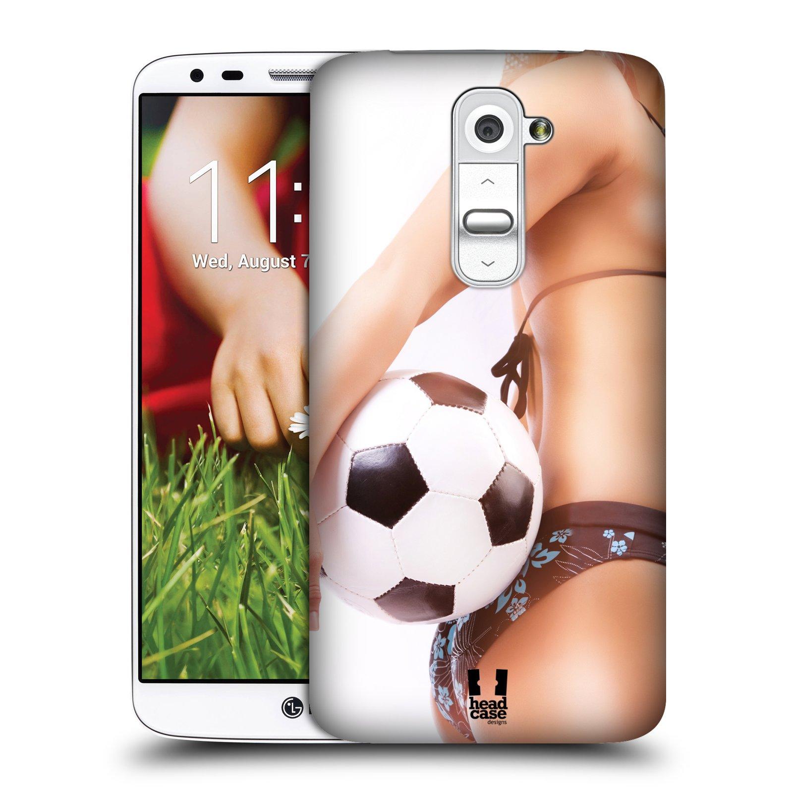 Plastové pouzdro na mobil LG G2 HEAD CASE SEXY ZADEČEK