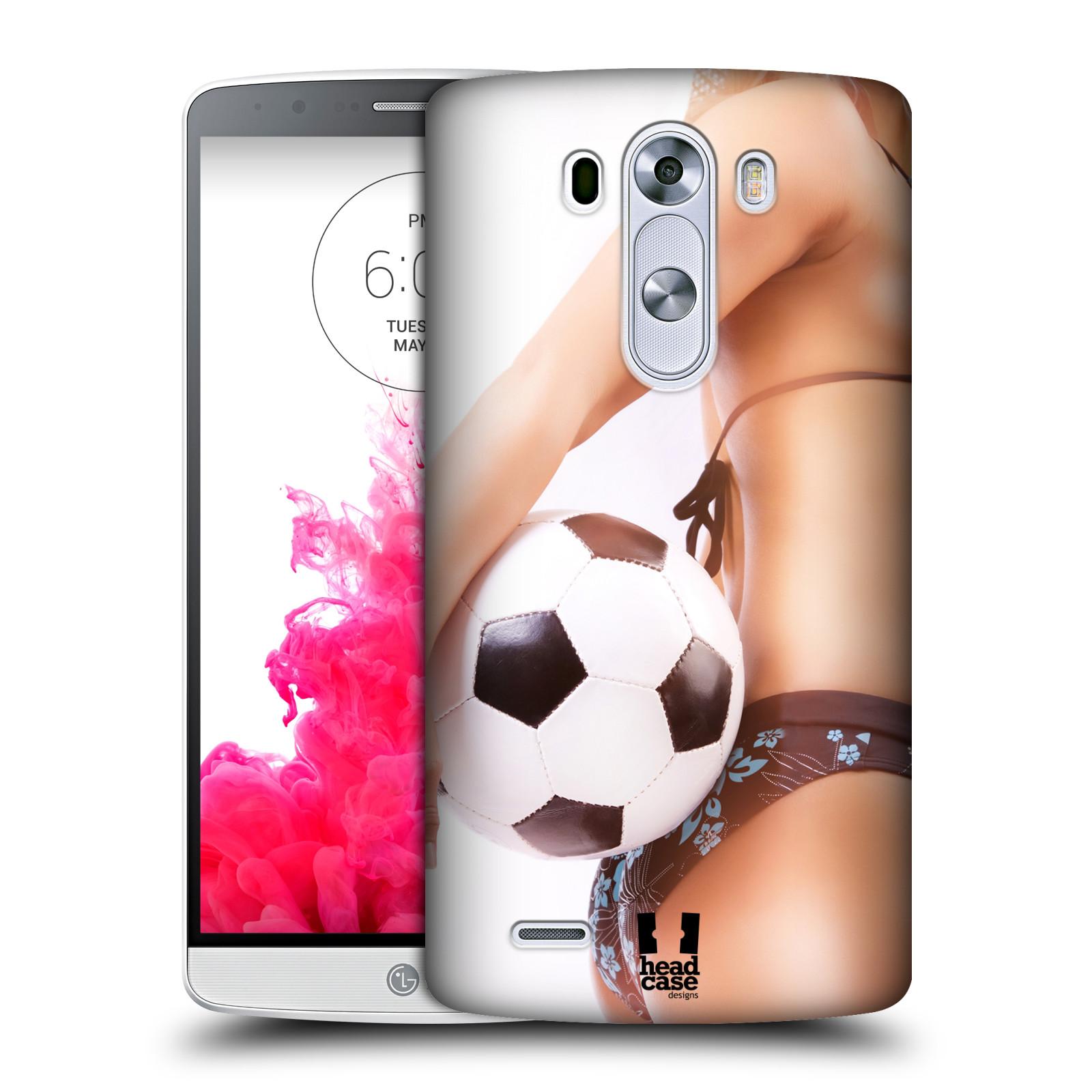 Plastové pouzdro na mobil LG G3 HEAD CASE SEXY ZADEČEK