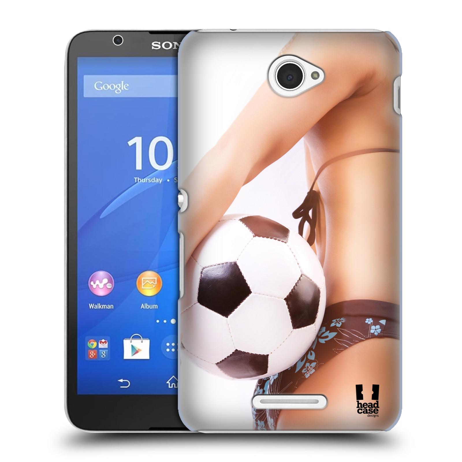 Plastové pouzdro na mobil Sony Xperia E4 E2105 HEAD CASE SEXY ZADEČEK