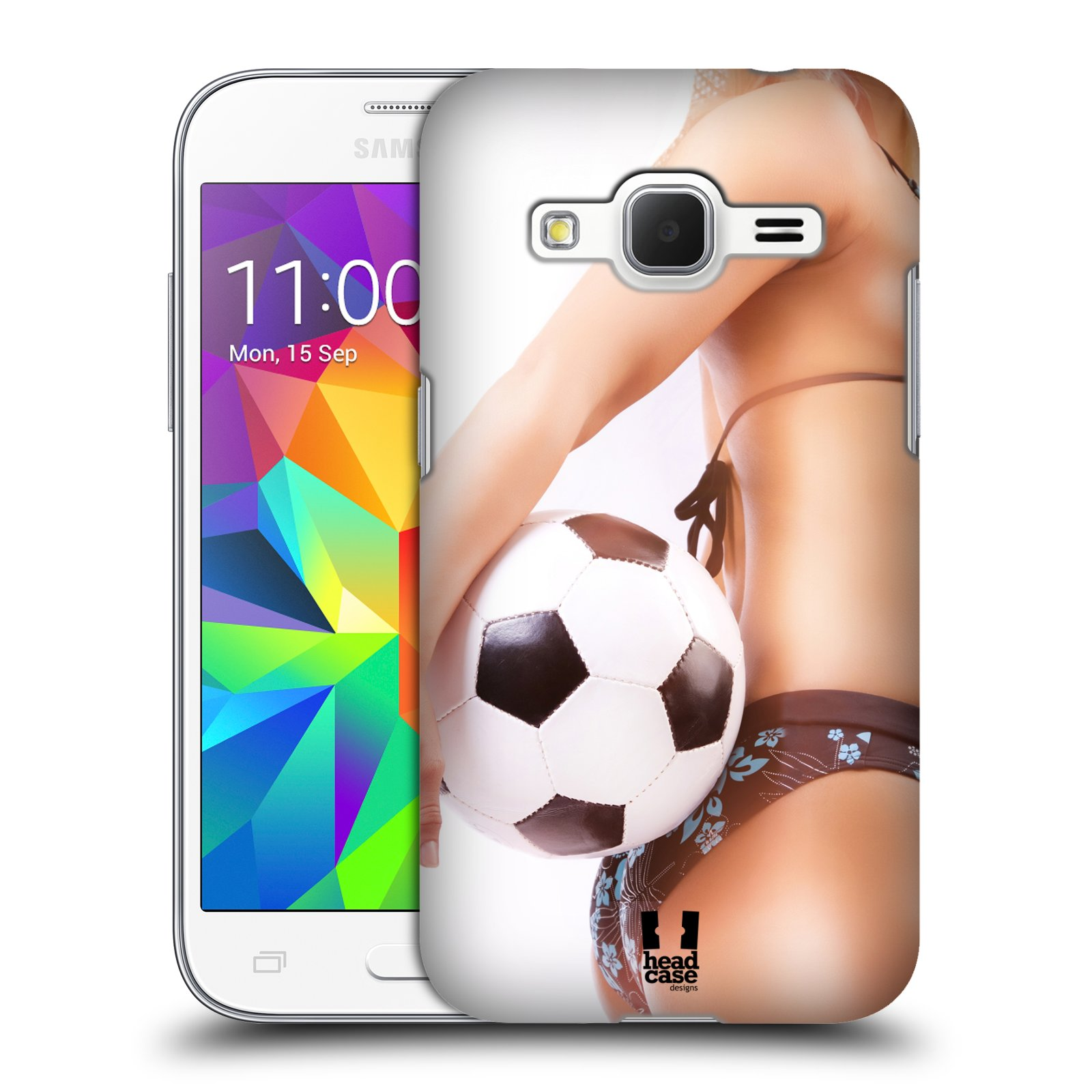 Plastové pouzdro na mobil Samsung Galaxy Core Prime VE HEAD CASE SEXY ZADEČEK