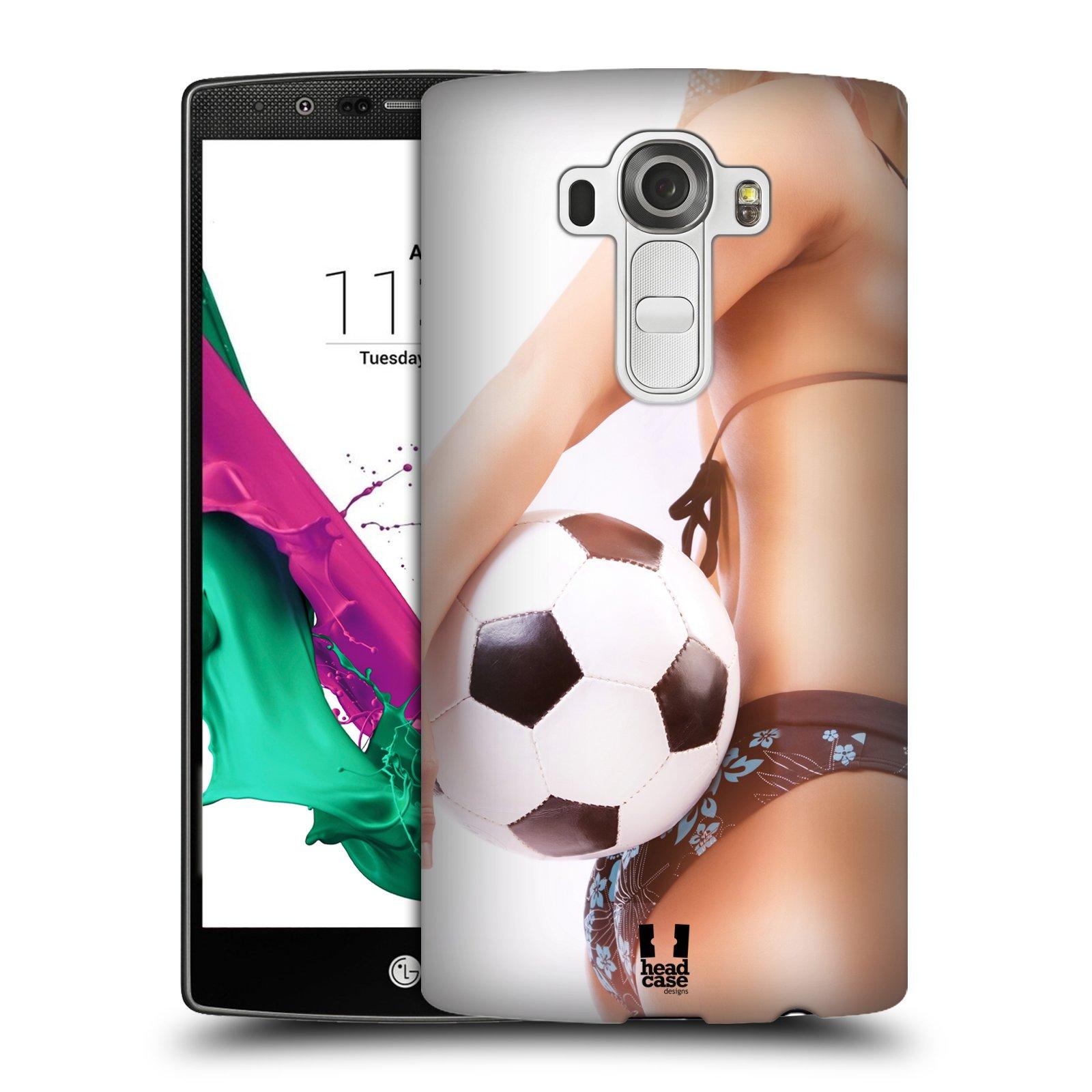 Plastové pouzdro na mobil LG G4 HEAD CASE SEXY ZADEČEK