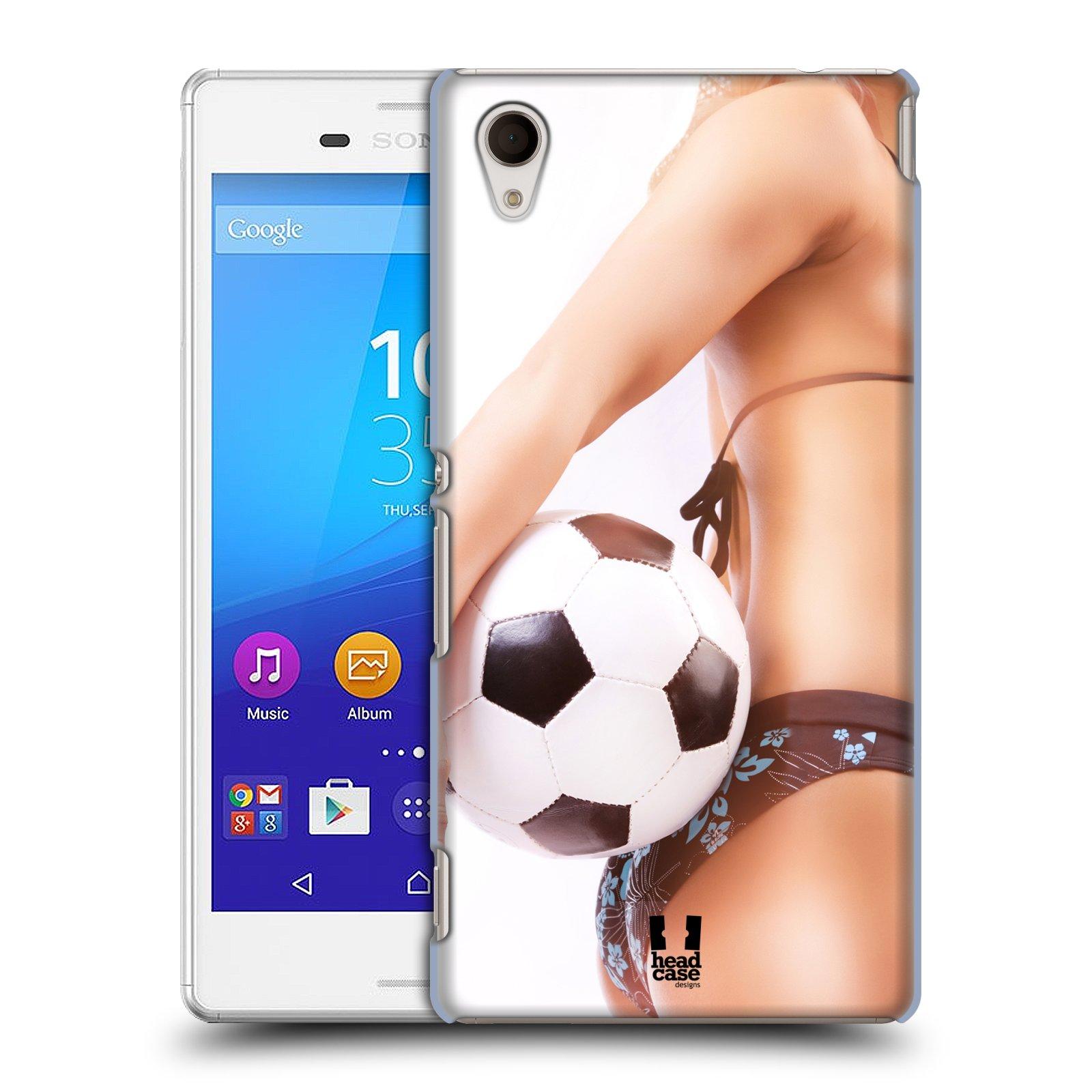 Plastové pouzdro na mobil Sony Xperia M4 Aqua E2303 HEAD CASE SEXY ZADEČEK