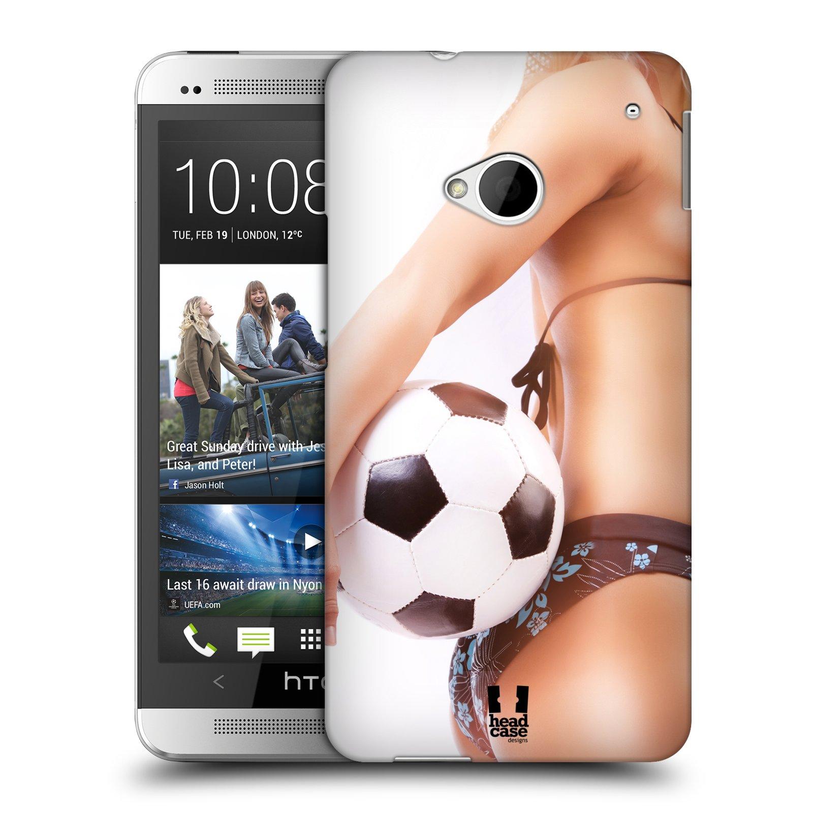 Plastové pouzdro na mobil HTC ONE M7 HEAD CASE SEXY ZADEČEK