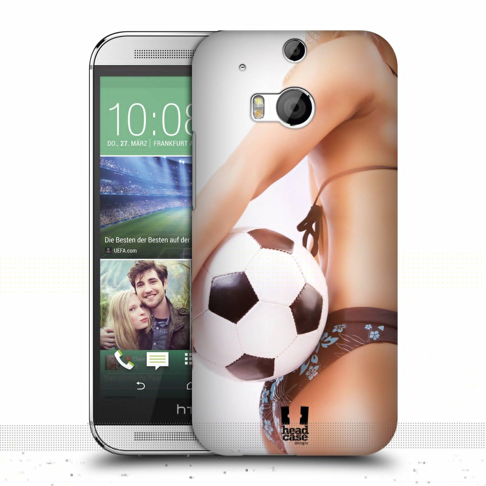 Plastové pouzdro na mobil HTC ONE M8 HEAD CASE SEXY ZADEČEK