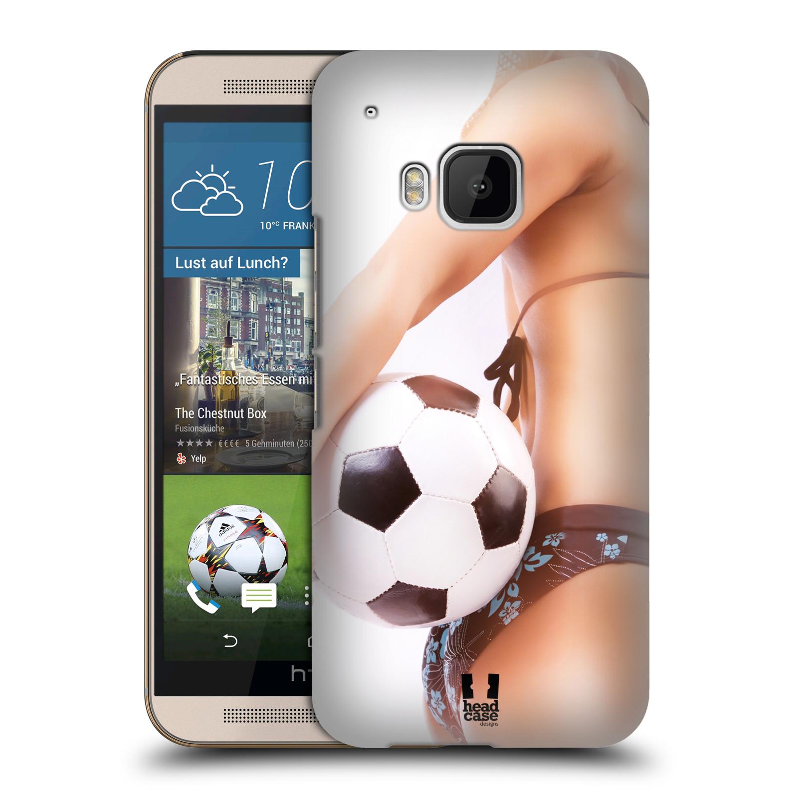 Plastové pouzdro na mobil HTC ONE M9 HEAD CASE SEXY ZADEČEK