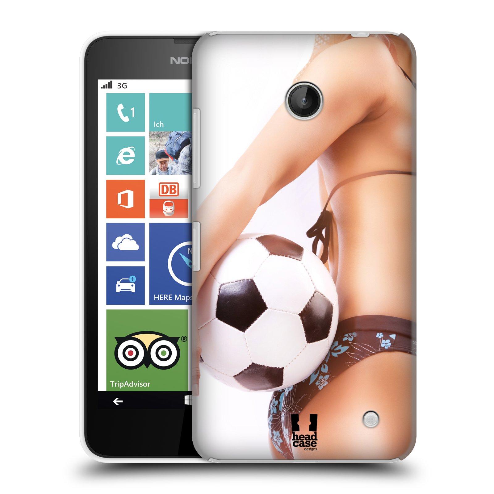 Plastové pouzdro na mobil Nokia Lumia 630 HEAD CASE SEXY ZADEČEK
