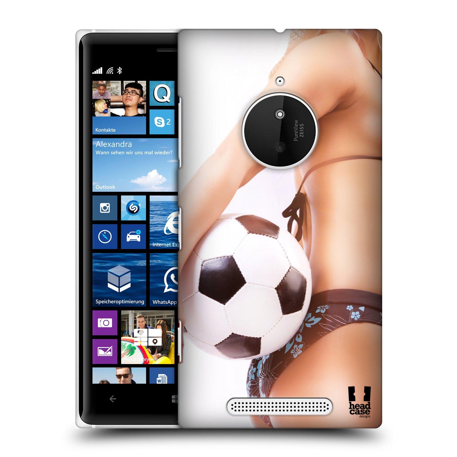Plastové pouzdro na mobil Nokia Lumia 830 HEAD CASE SEXY ZADEČEK