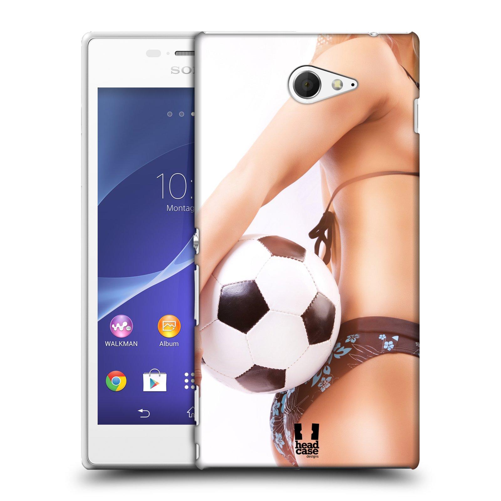 Plastové pouzdro na mobil Sony Xperia M2 D2303 HEAD CASE SEXY ZADEČEK