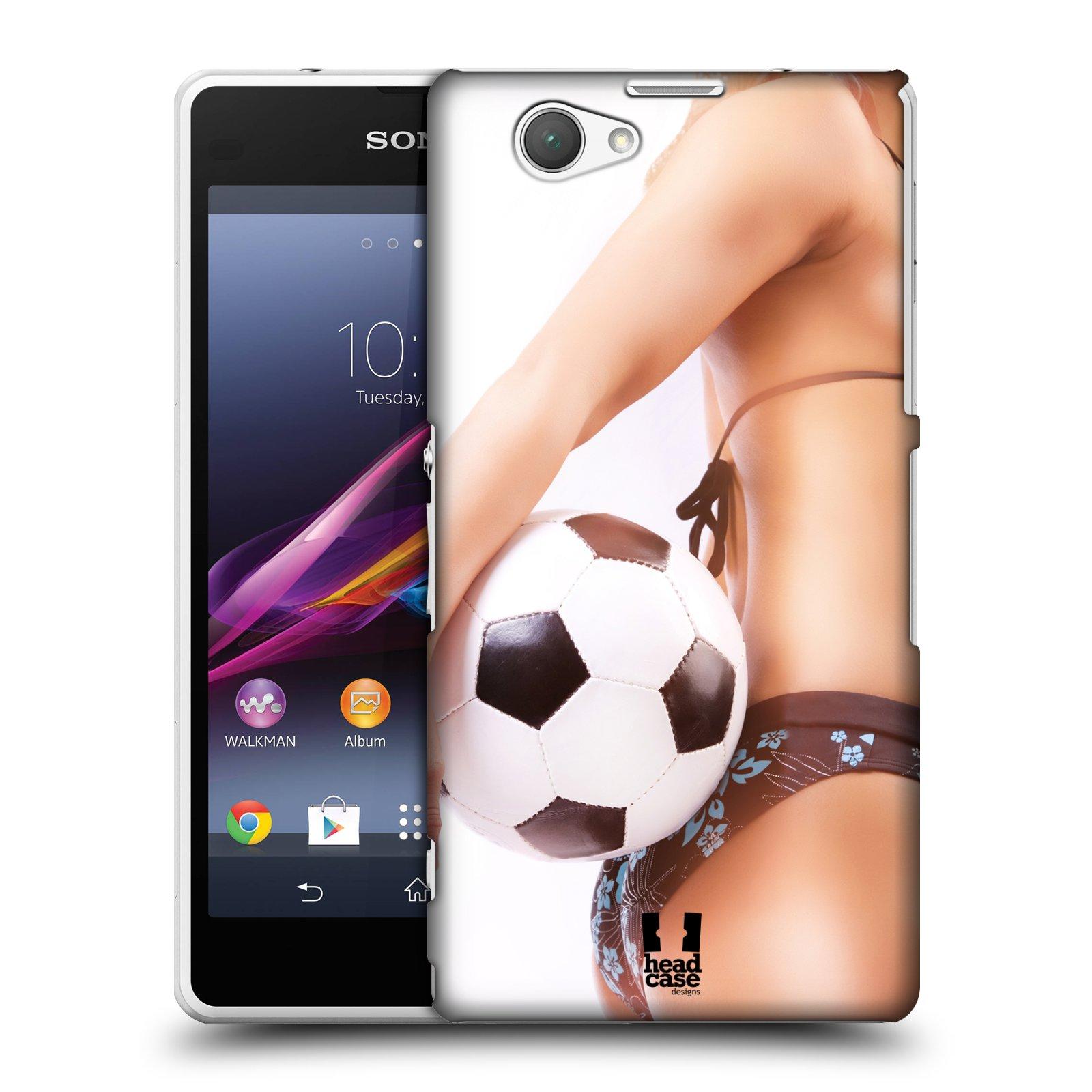 Plastové pouzdro na mobil Sony Xperia Z1 Compact D5503 HEAD CASE SEXY ZADEČEK
