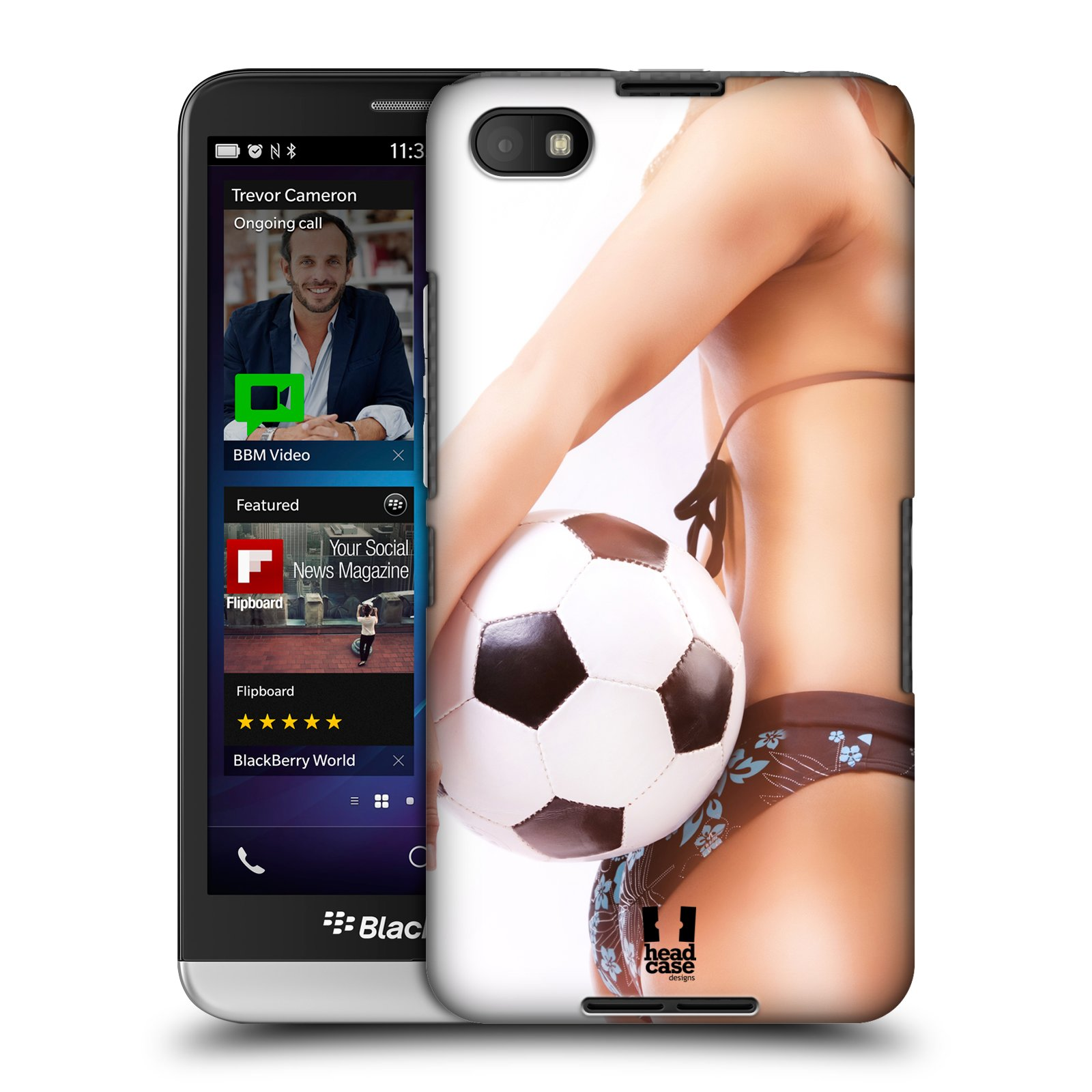 Plastové pouzdro na mobil Blackberry Z30 HEAD CASE SEXY ZADEČEK (Kryt či obal na mobilní telefon Blackberry Z30)