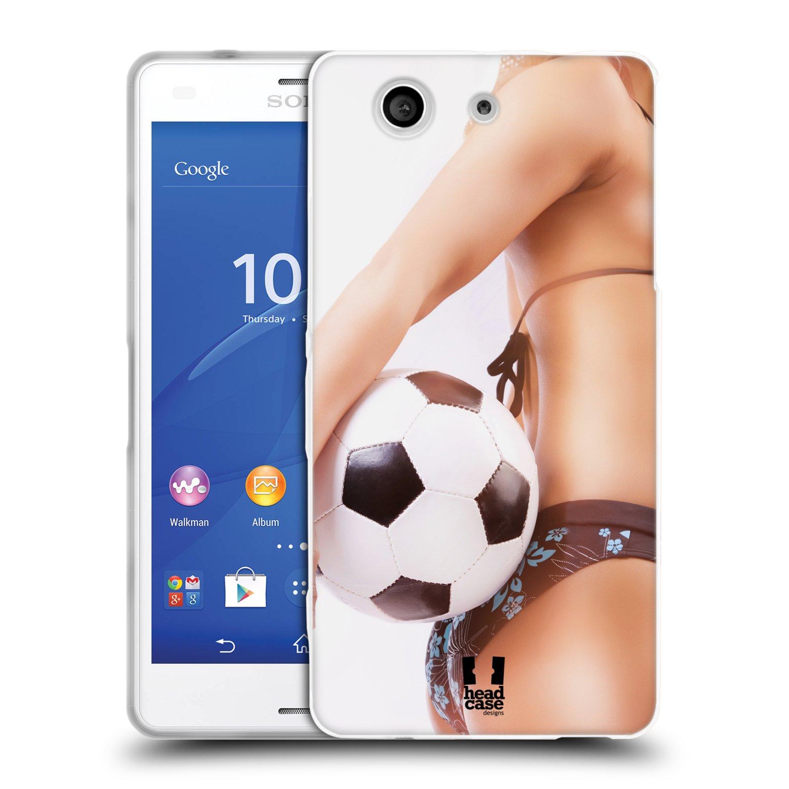 Silikonové pouzdro na mobil Sony Xperia Z3 Compact D5803 HEAD CASE SEXY ZADEČEK