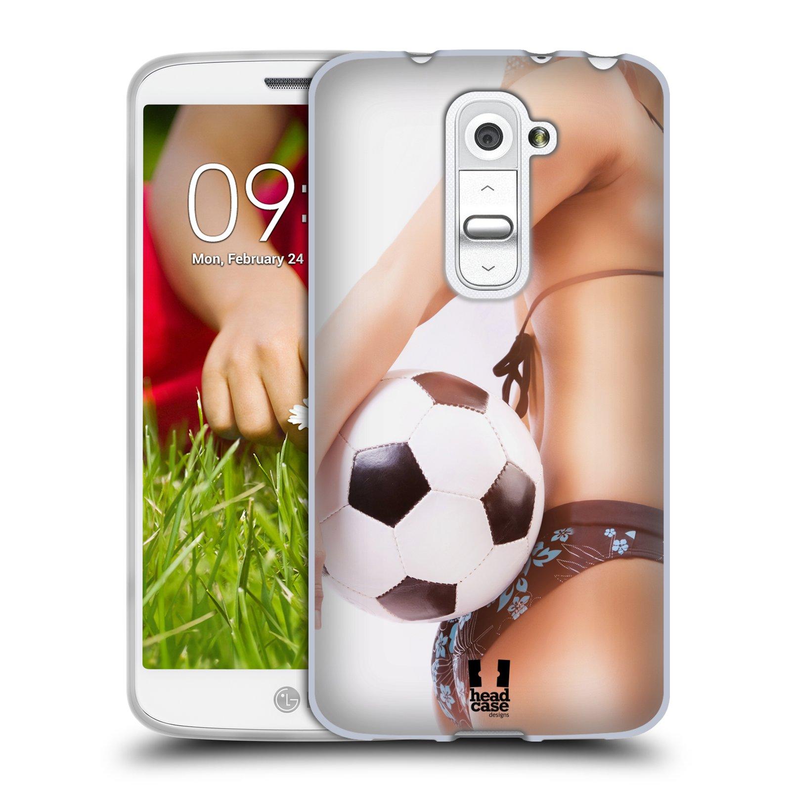 Silikonové pouzdro na mobil LG G2 Mini HEAD CASE SEXY ZADEČEK