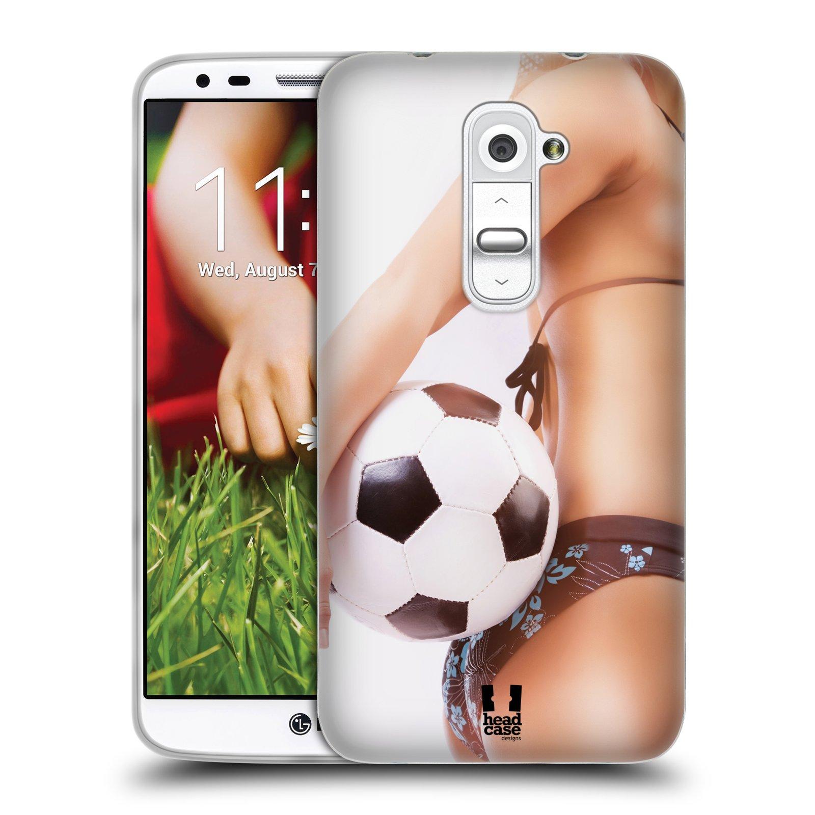 Silikonové pouzdro na mobil LG G2 HEAD CASE SEXY ZADEČEK