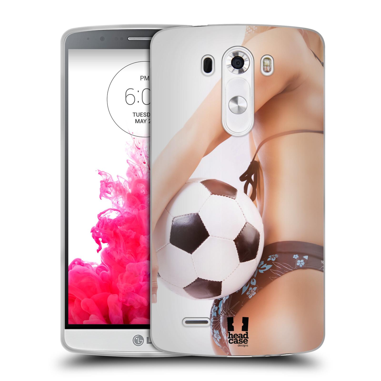 Silikonové pouzdro na mobil LG G3 HEAD CASE SEXY ZADEČEK