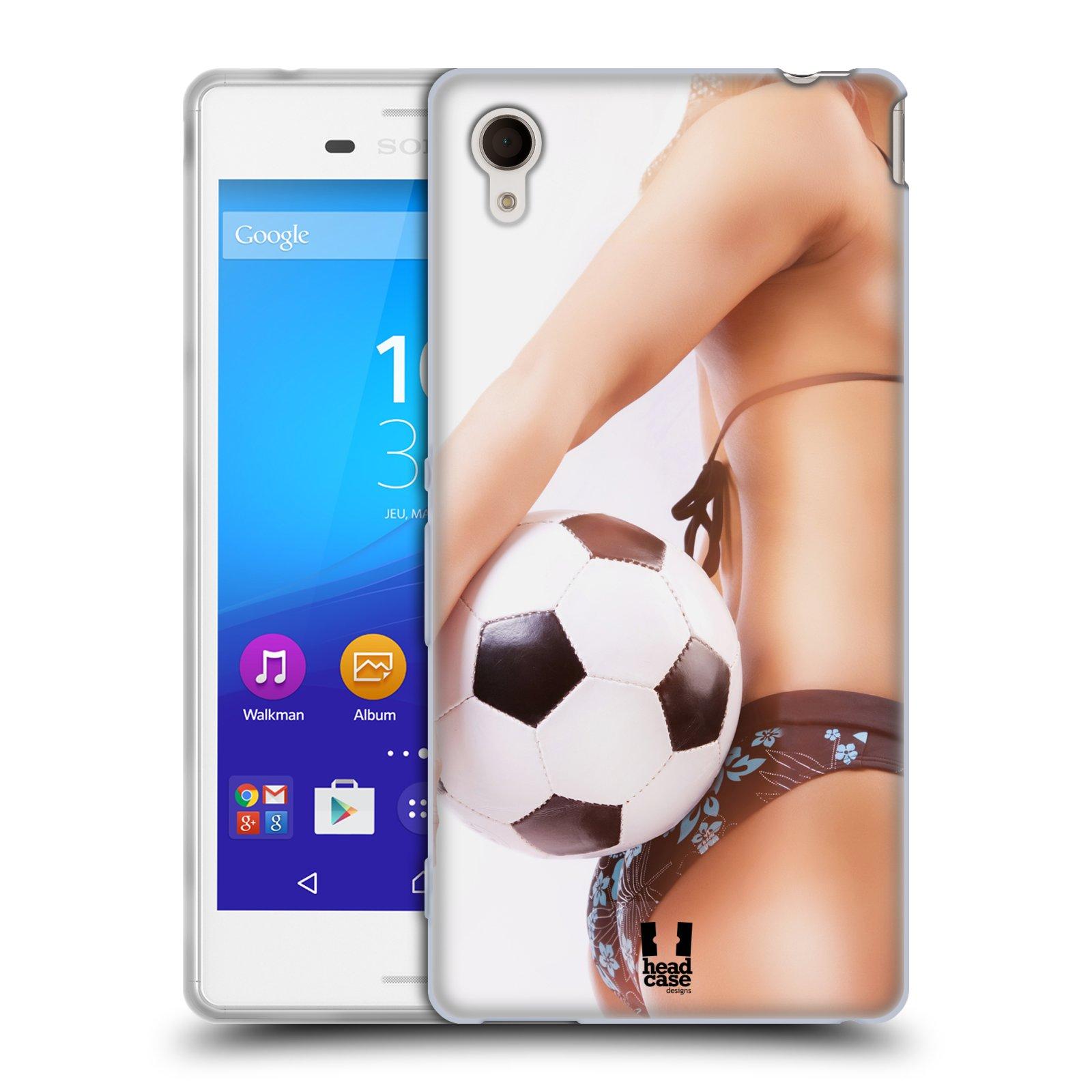 Silikonové pouzdro na mobil Sony Xperia M4 Aqua E2303 HEAD CASE SEXY ZADEČEK