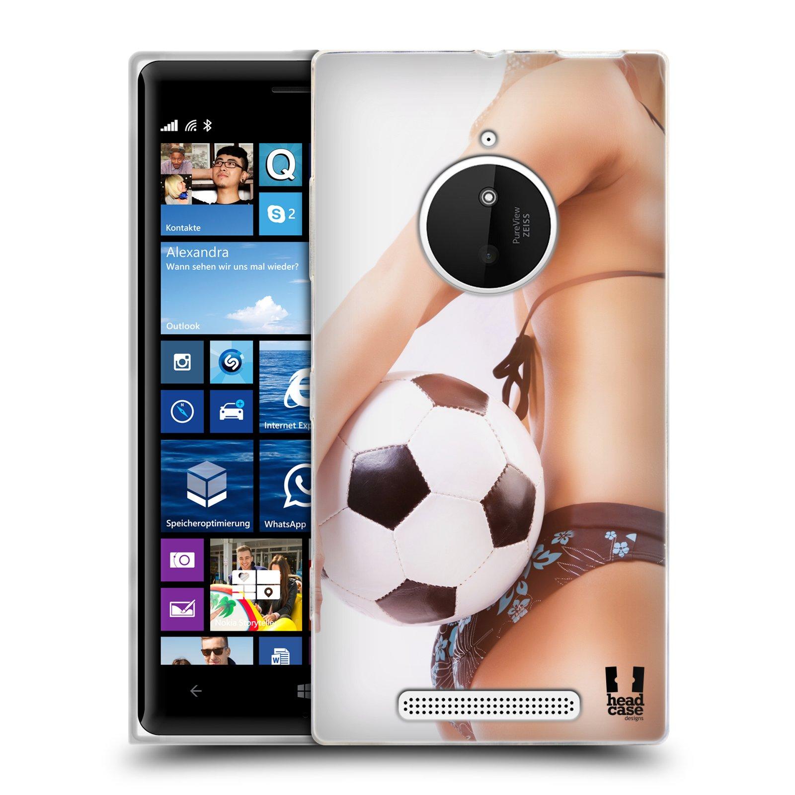 Silikonové pouzdro na mobil Nokia Lumia 830 HEAD CASE SEXY ZADEČEK
