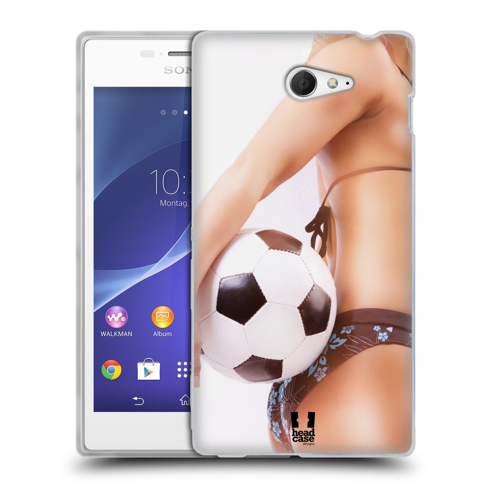 Silikonové pouzdro na mobil Sony Xperia M2 D2303 HEAD CASE SEXY ZADEČEK