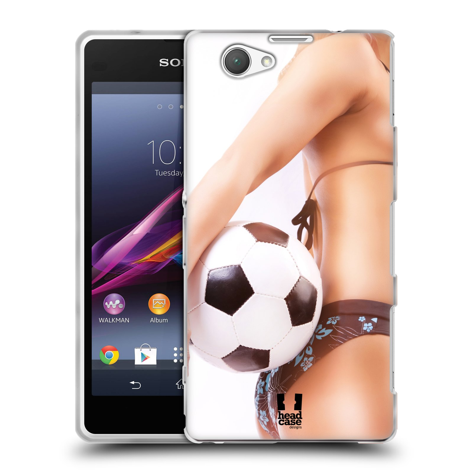 Silikonové pouzdro na mobil Sony Xperia Z1 Compact D5503 HEAD CASE SEXY ZADEČEK