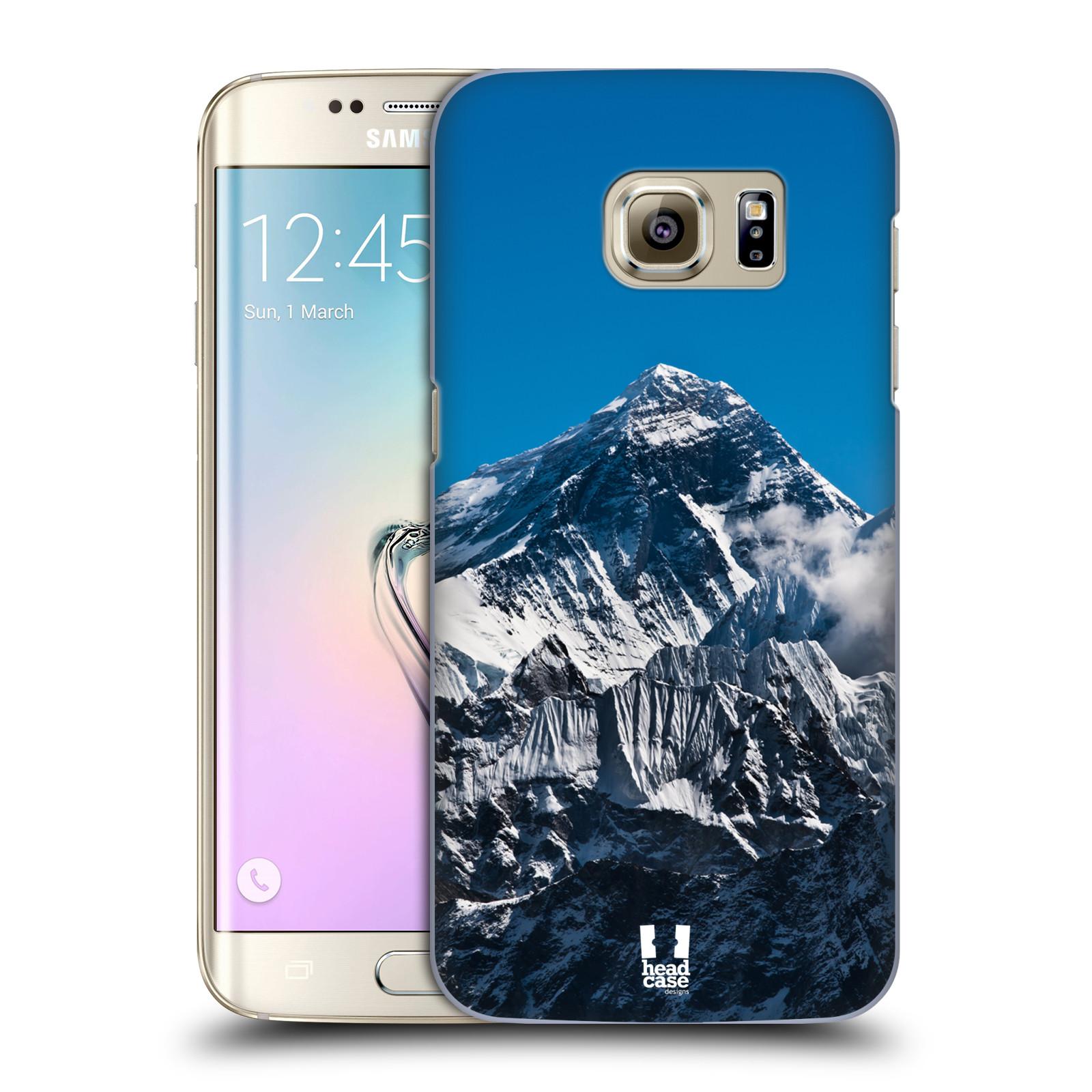 Plastové pouzdro na mobil Samsung Galaxy S7 Edge HEAD CASE Mount Everest Peak (Kryt či obal na mobilní telefon Samsung Galaxy S7 Edge SM-G935F)