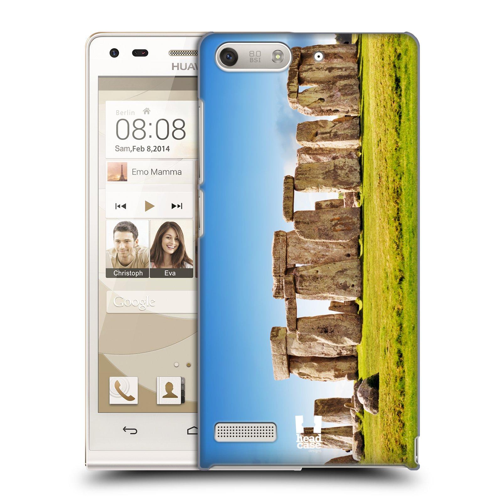 Plastové pouzdro na mobil Huawei Ascend G6 HEAD CASE Stonehenge England (Kryt či obal na mobilní telefon Huawei Ascend G6 bez LTE)