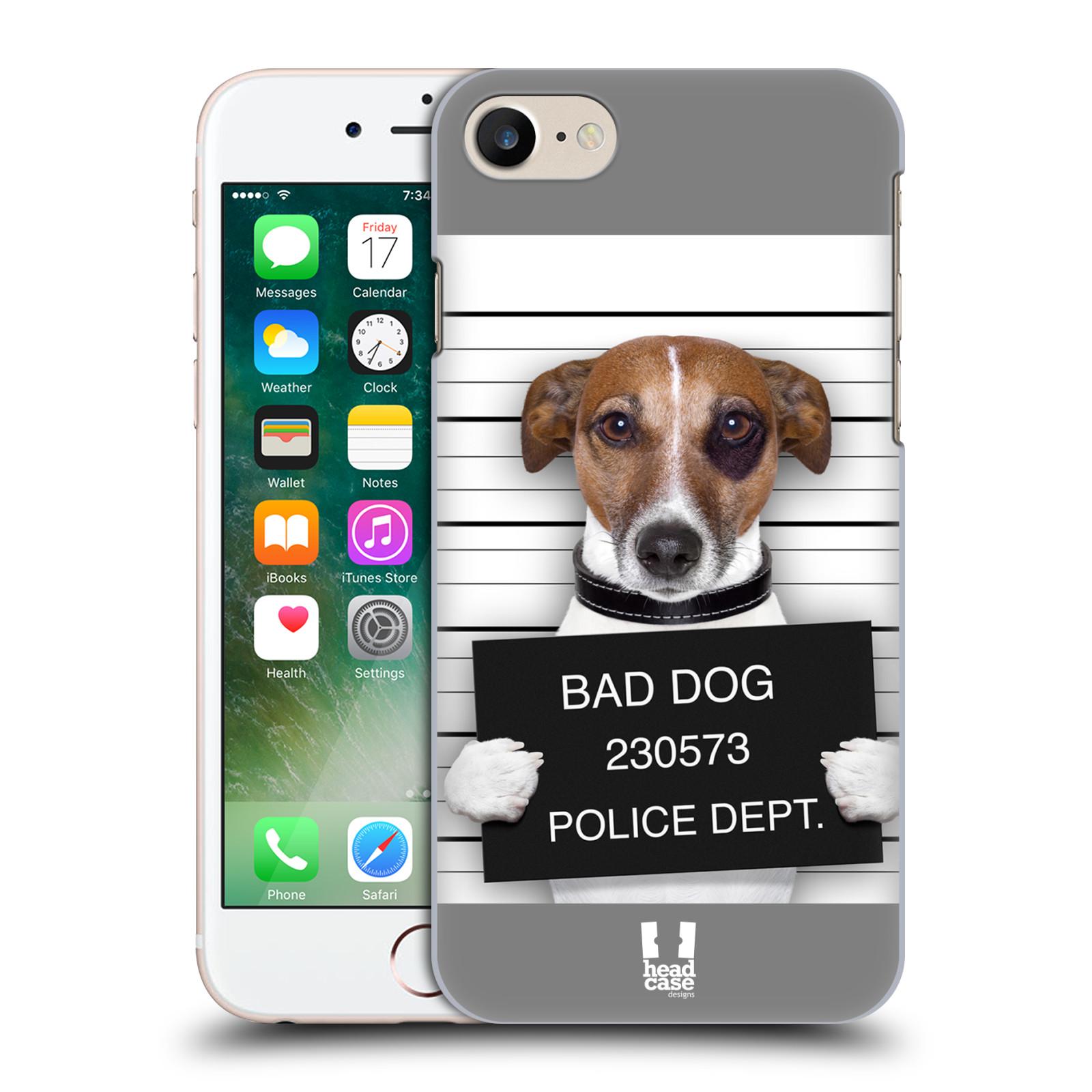 Plastové pouzdro na mobil Apple iPhone 7 HEAD CASE ZLEJ PEJSEK