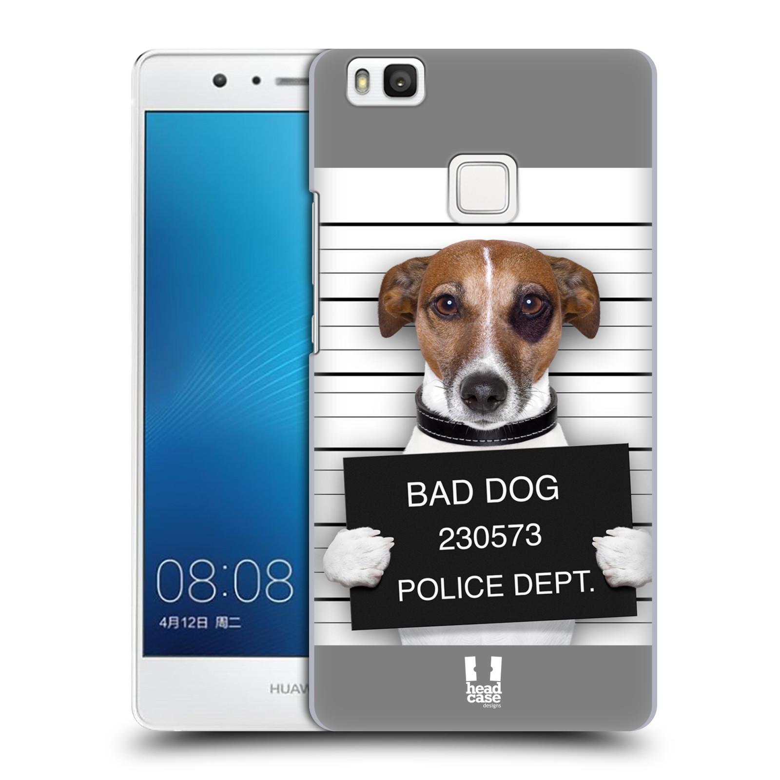 Plastové pouzdro na mobil Huawei P9 Lite HEAD CASE ZLEJ PEJSEK