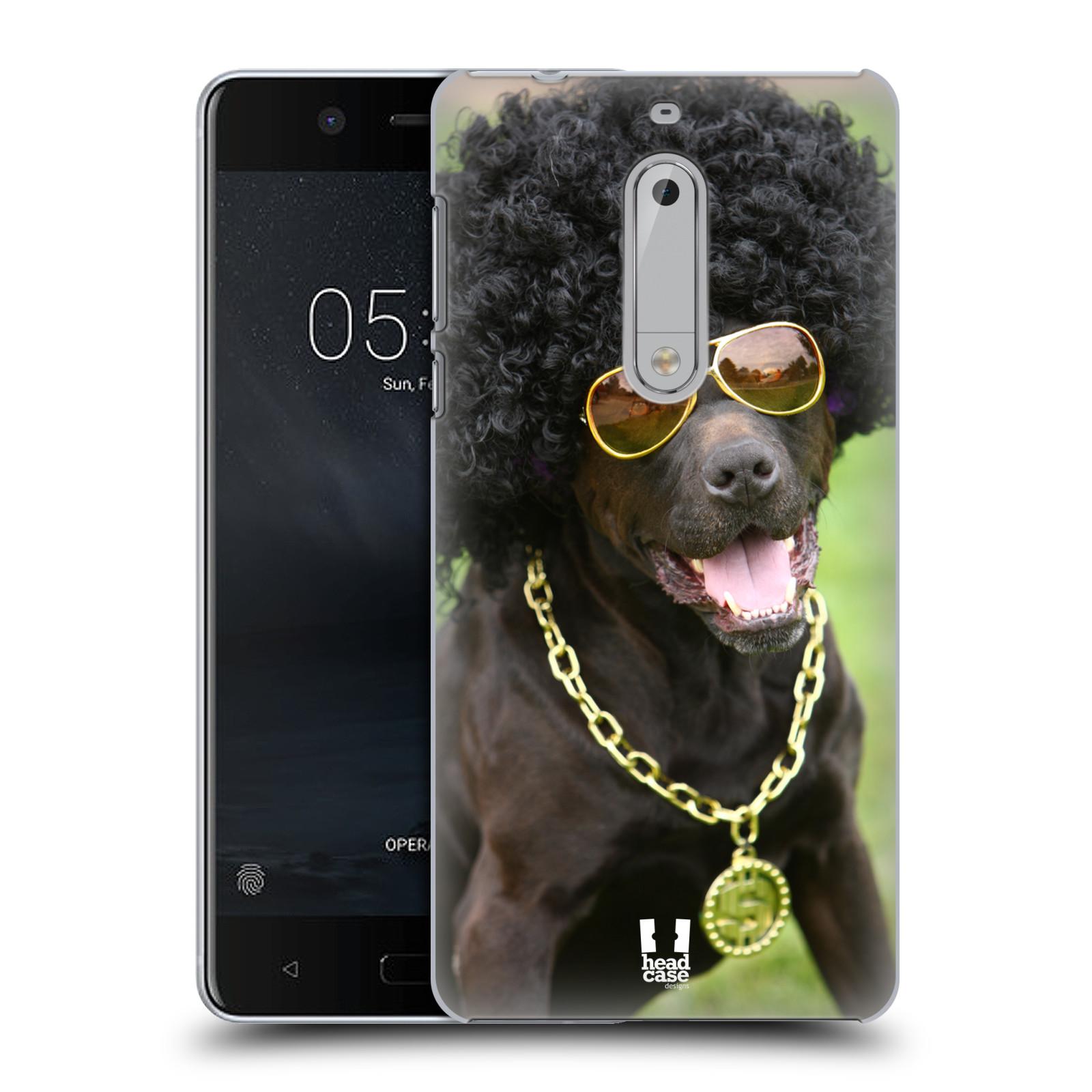 Plastové pouzdro na mobil Nokia 5 Head Case - FUNKY PES (Plastový kryt či obal na mobilní telefon Nokia 5 (2017))