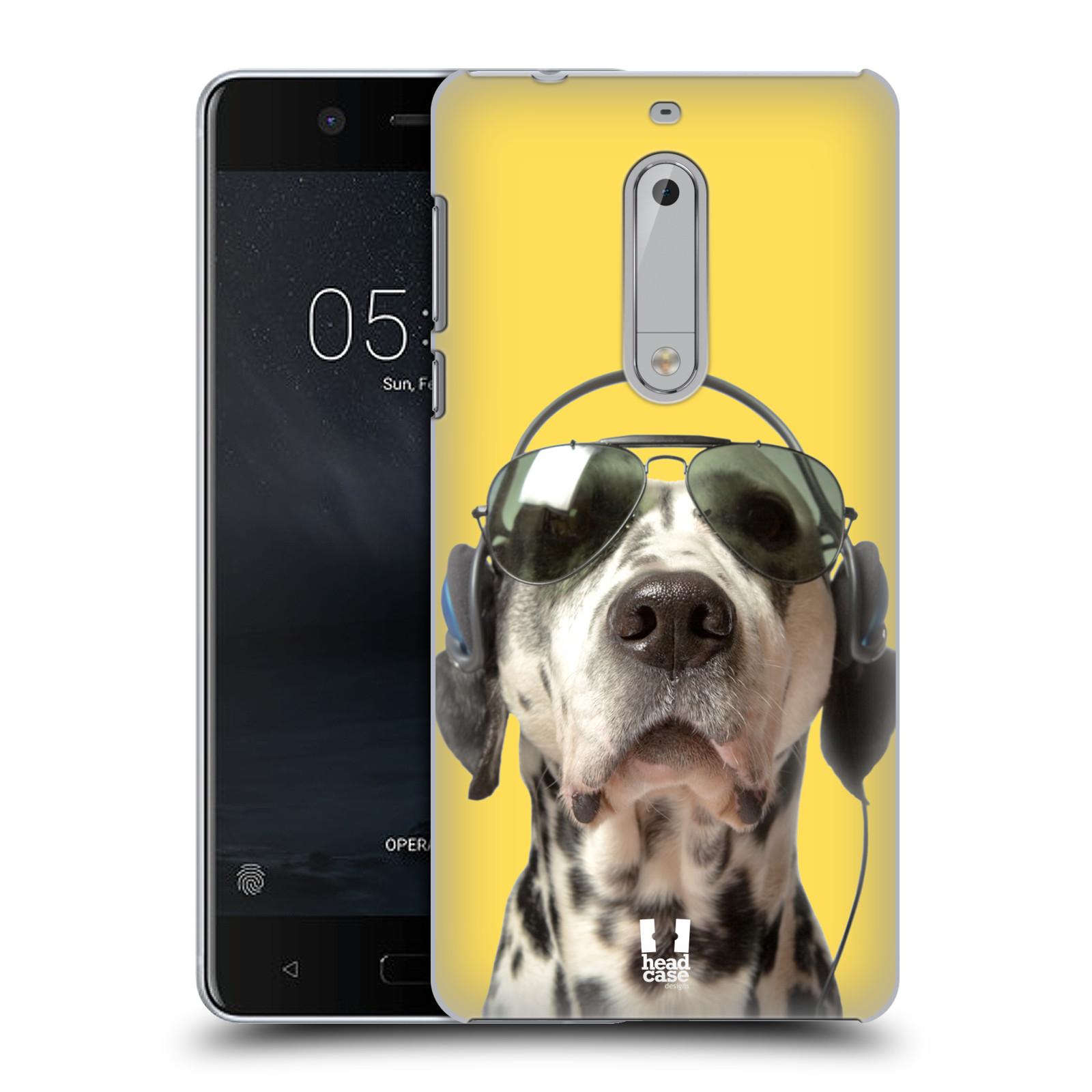 Plastové pouzdro na mobil Nokia 5 Head Case - ZAPOSLOUCHANÝ DALMATIN (Plastový kryt či obal na mobilní telefon Nokia 5 (2017))