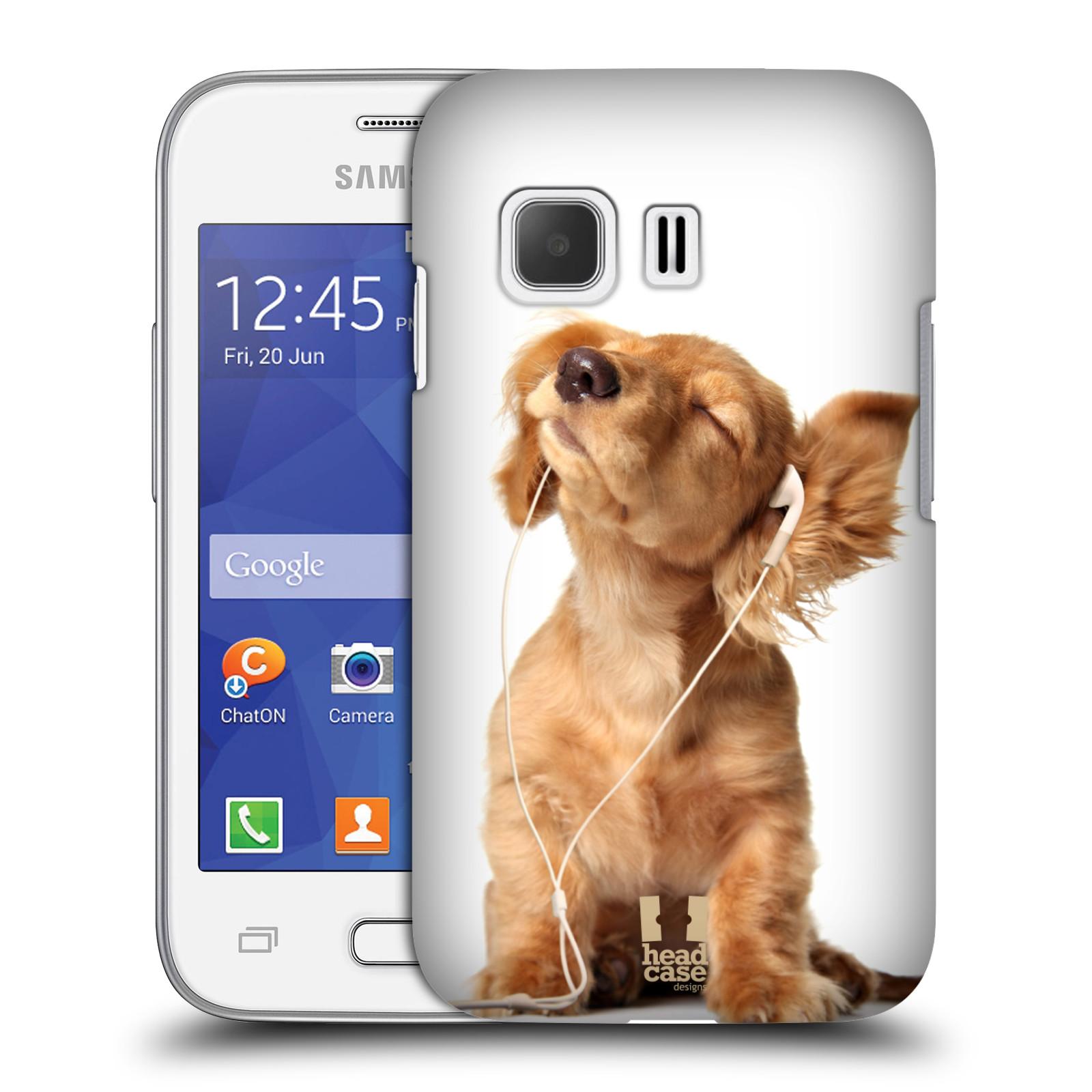 Plastové pouzdro na mobil Samsung Galaxy Young 2 HEAD CASE ZAPOSLOUCHANÉ ŠTĚNĚ