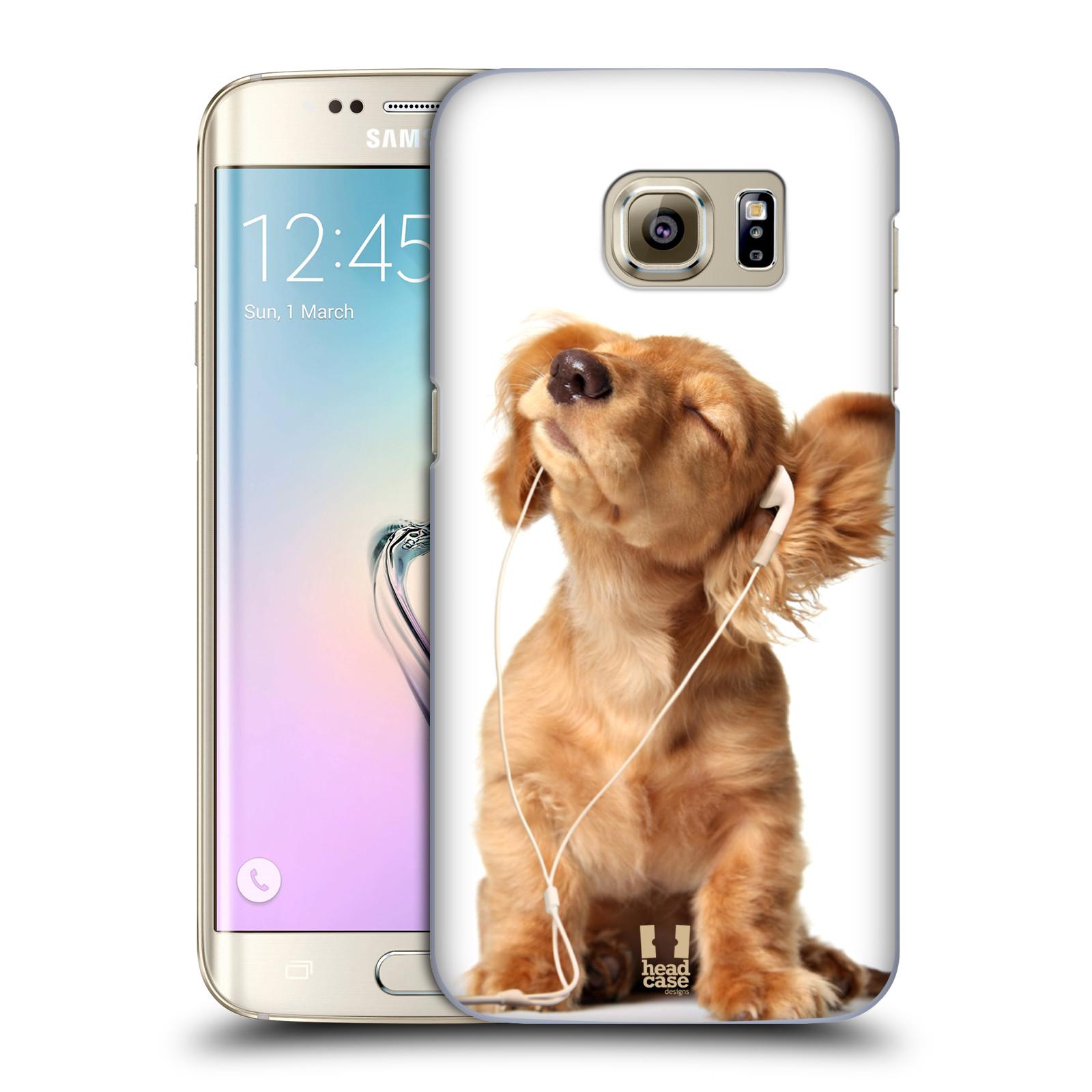 Plastové pouzdro na mobil Samsung Galaxy S7 Edge HEAD CASE ZAPOSLOUCHANÉ ŠTĚNĚ (Kryt či obal na mobilní telefon Samsung Galaxy S7 Edge SM-G935F)