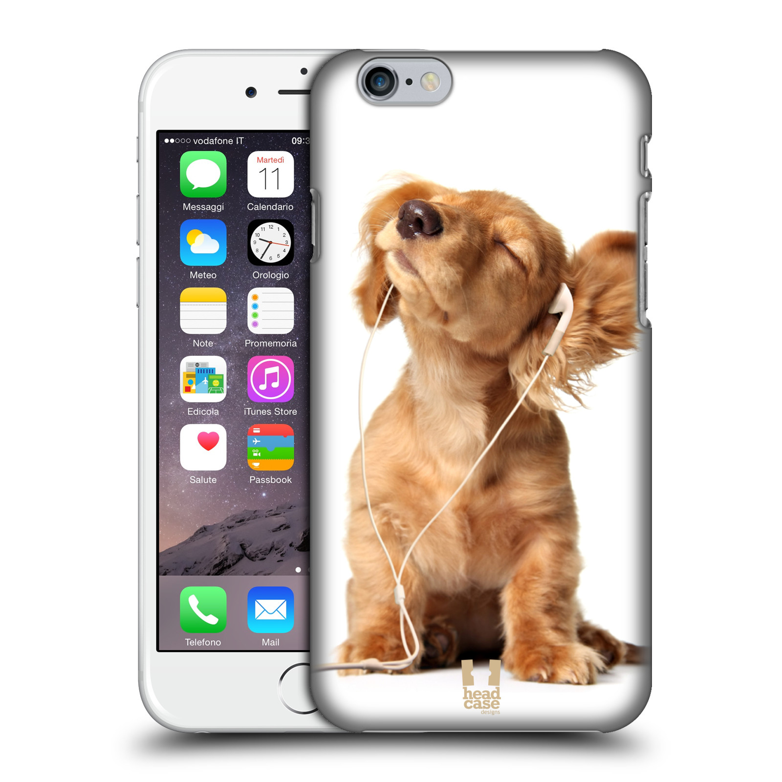 Plastové pouzdro na mobil Apple iPhone 6 a 6S HEAD CASE ZAPOSLOUCHANÉ ŠTĚNĚ