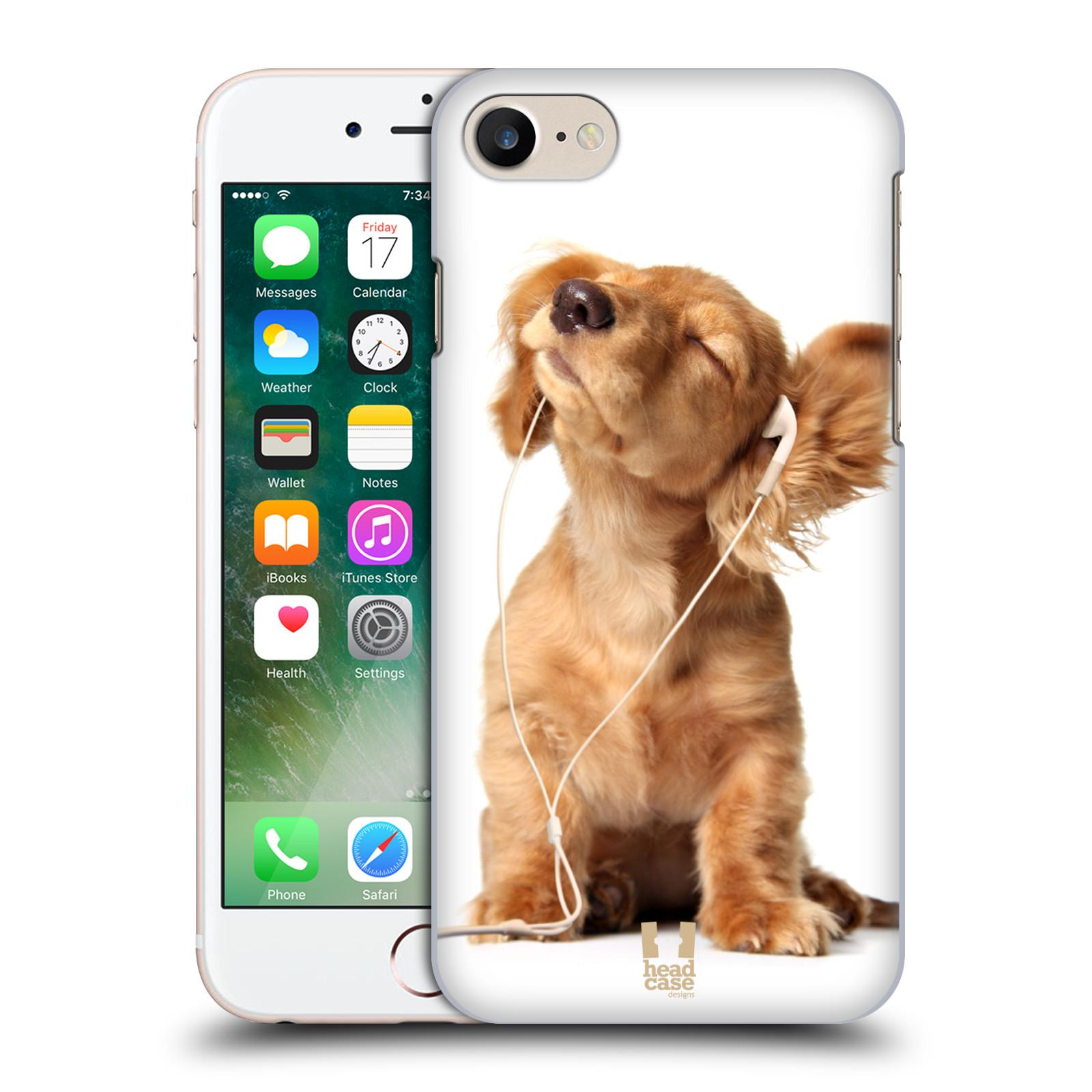 Plastové pouzdro na mobil Apple iPhone 7 HEAD CASE ZAPOSLOUCHANÉ ŠTĚNĚ