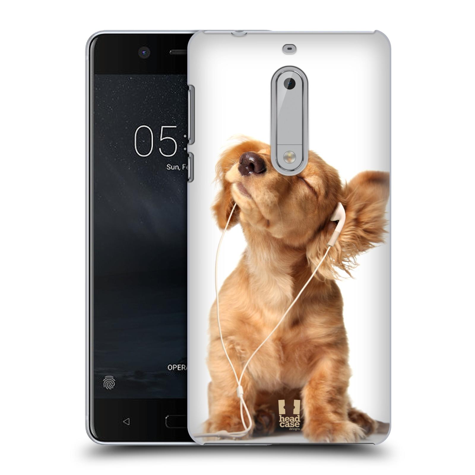 Plastové pouzdro na mobil Nokia 5 Head Case - ZAPOSLOUCHANÉ ŠTĚNĚ (Plastový kryt či obal na mobilní telefon Nokia 5 (2017))