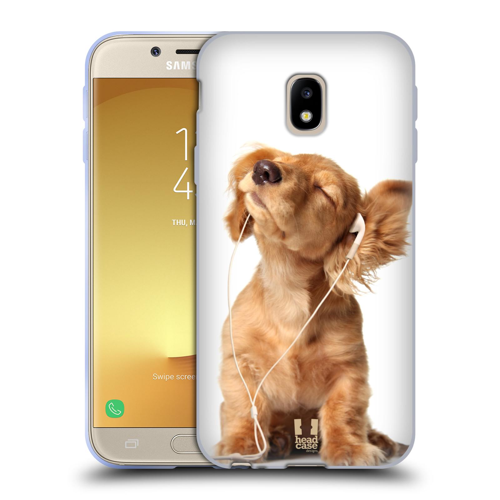 Silikonové pouzdro na mobil Samsung Galaxy J3 (2017) - Head Case - ZAPOSLOUCHANÉ ŠTĚNĚ