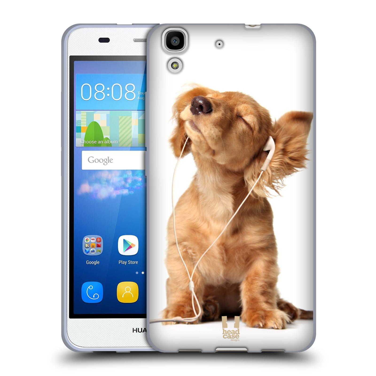 Silikonové pouzdro na mobil Huawei Y6 HEAD CASE ZAPOSLOUCHANÉ ŠTĚNĚ