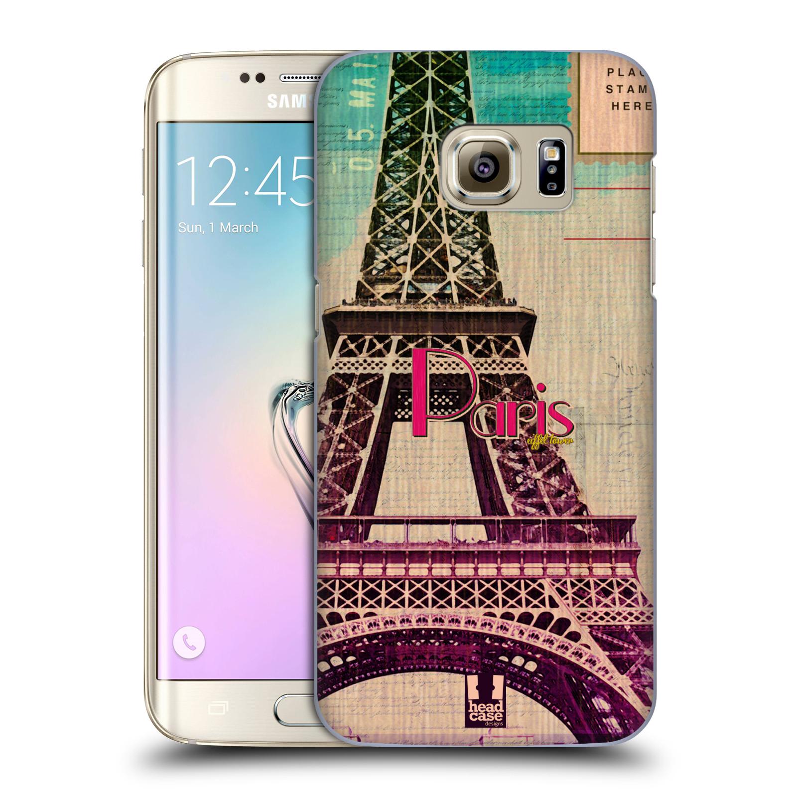 Plastové pouzdro na mobil Samsung Galaxy S7 Edge HEAD CASE PARIS VINTAGE (Kryt či obal na mobilní telefon Samsung Galaxy S7 Edge SM-G935F)
