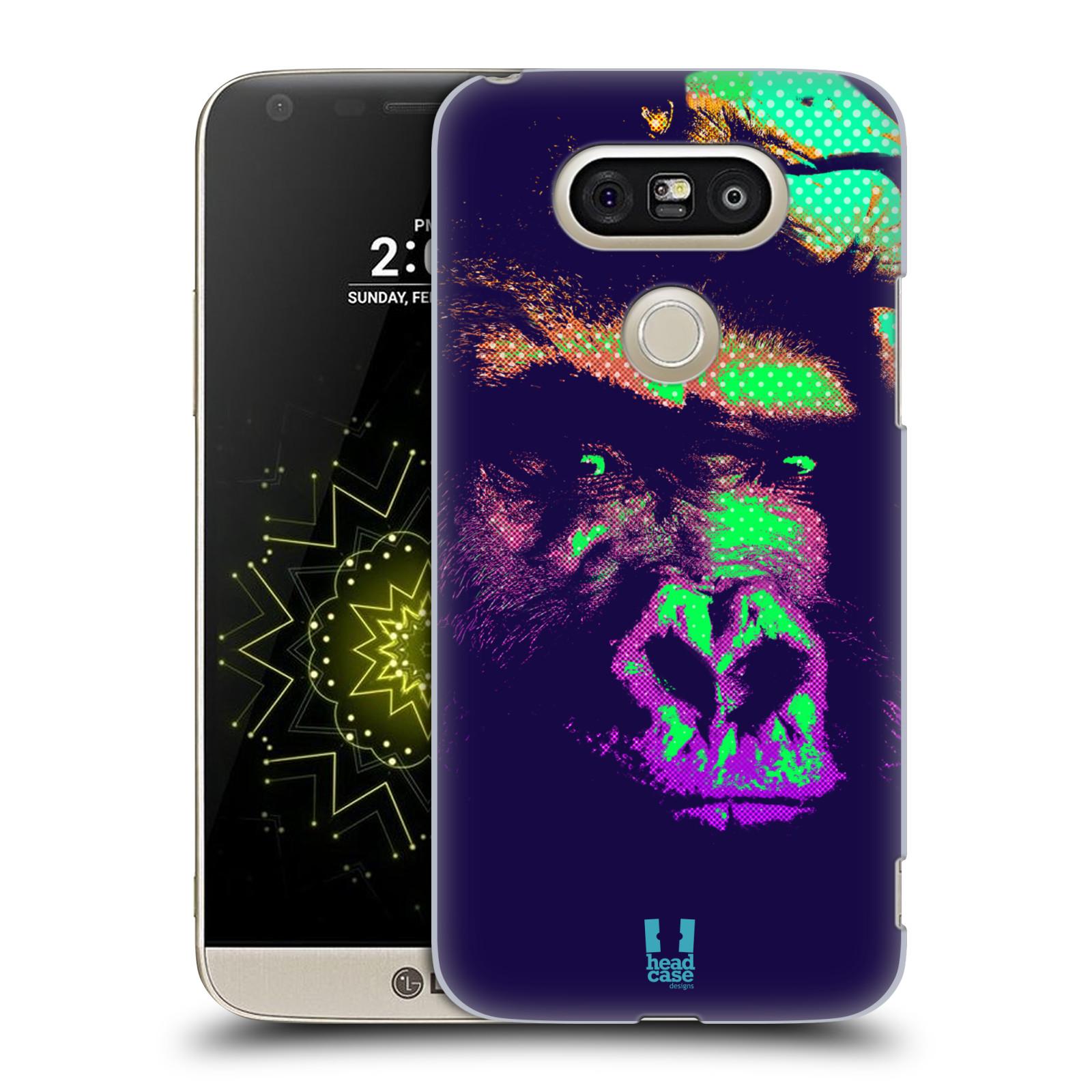Plastové pouzdro na mobil LG G5 SE - Head Case - POP PRINT GORILA (Plastový kryt či obal na mobilní telefon LG G5 SE H840 s motivem POP PRINT GORILA)