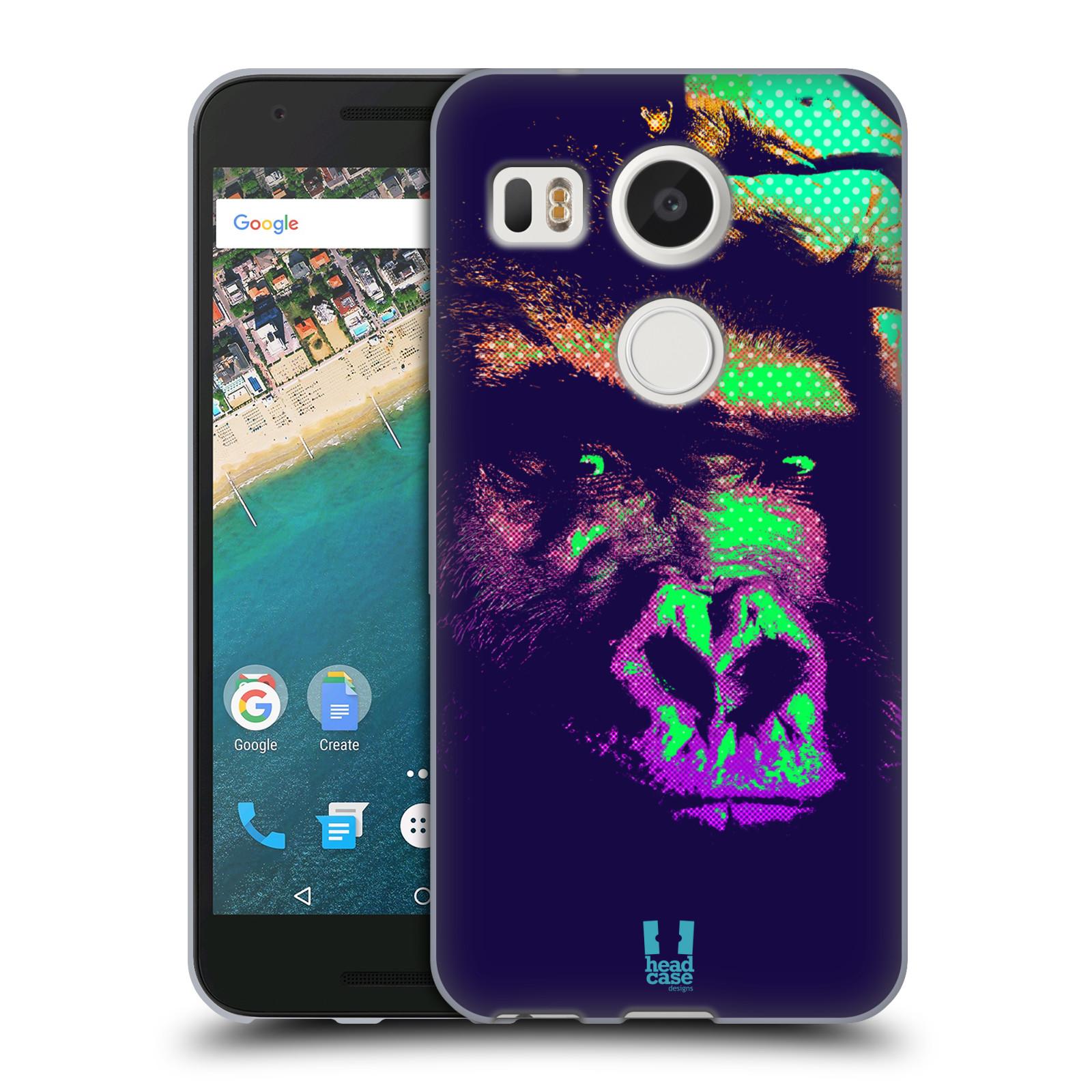 Silikonové pouzdro na mobil LG Nexus 5X - Head Case - POP PRINT GORILA (Silikonový kryt či obal na mobilní telefon LG Nexus 5X)