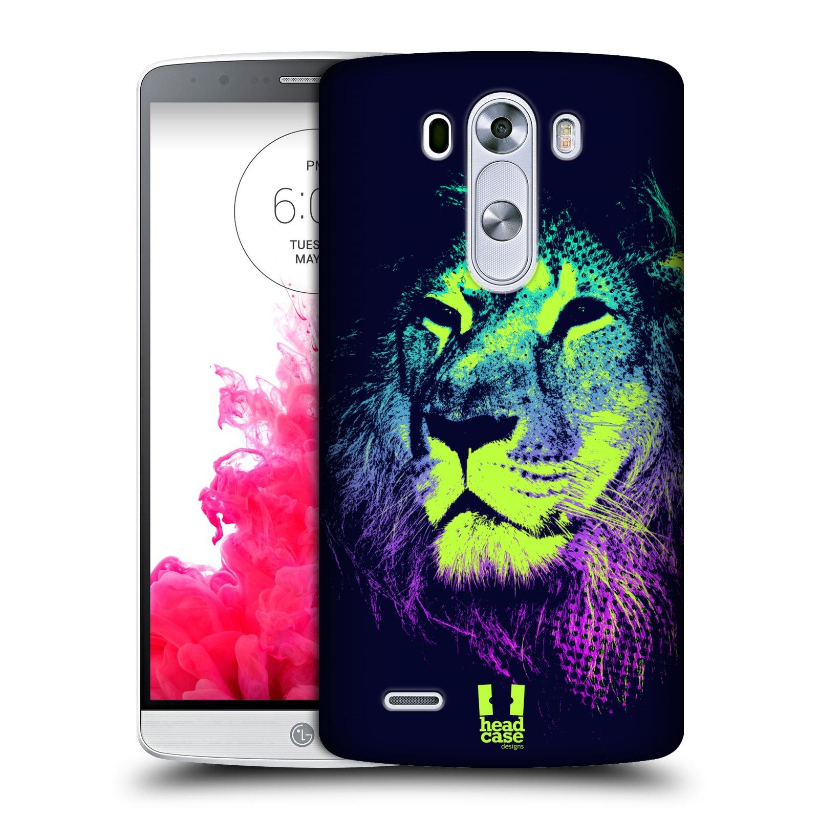 Plastové pouzdro na mobil LG G3 HEAD CASE POP PRINT LEV (Kryt či obal na mobilní telefon LG G3 D855)
