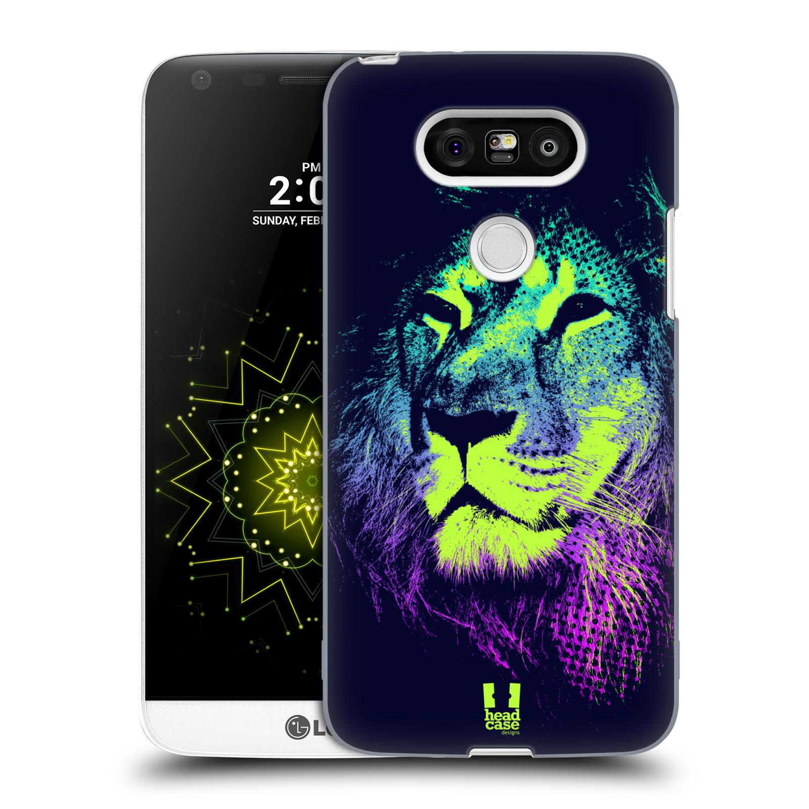 Plastové pouzdro na mobil LG G5 HEAD CASE POP PRINT LEV (Kryt či obal na mobilní telefon LG G5 H850)