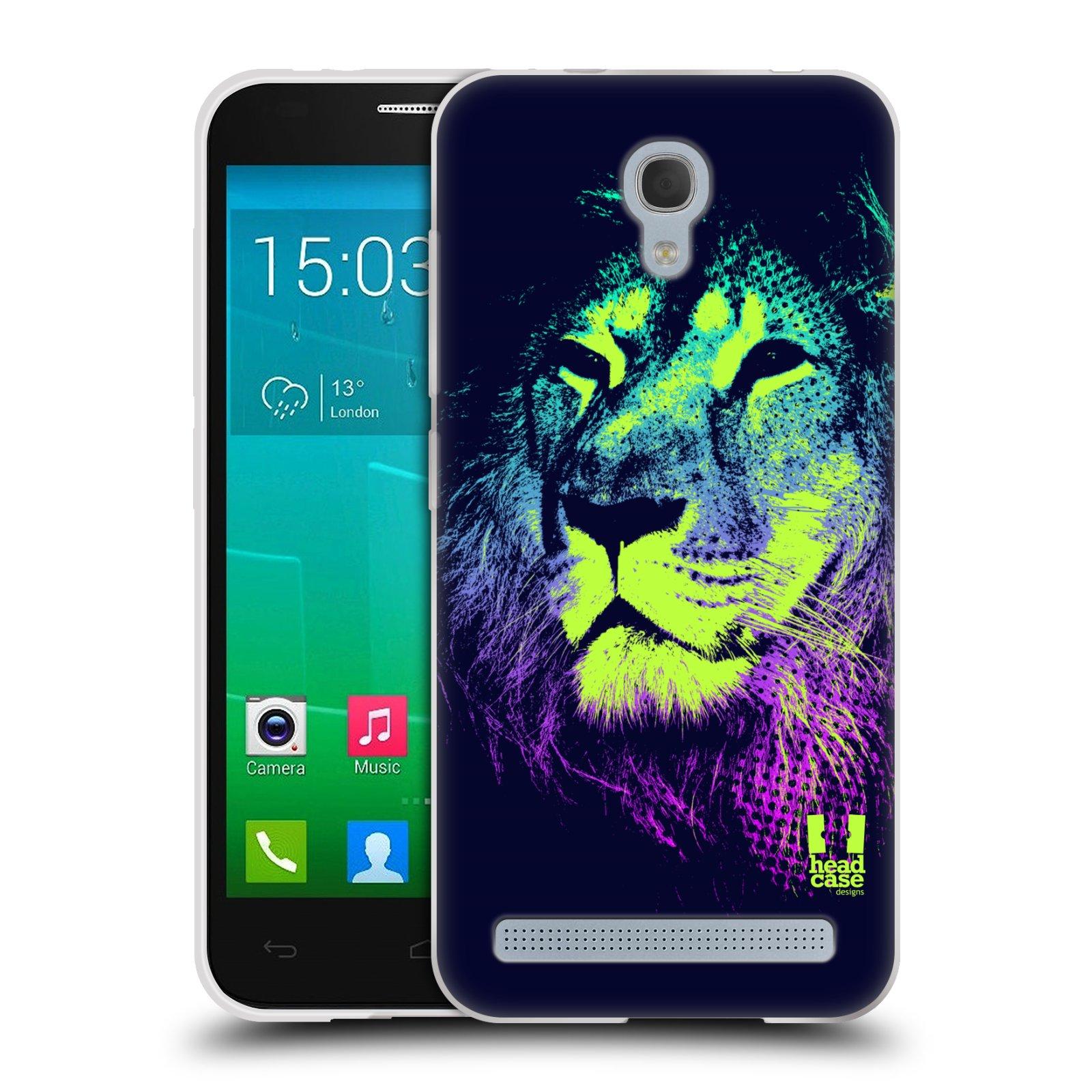 Silikonové pouzdro na mobil Alcatel One Touch Idol 2 Mini S 6036Y HEAD CASE POP PRINT LEV (Silikonový kryt či obal na mobilní telefon Alcatel Idol 2 Mini S OT-6036Y)