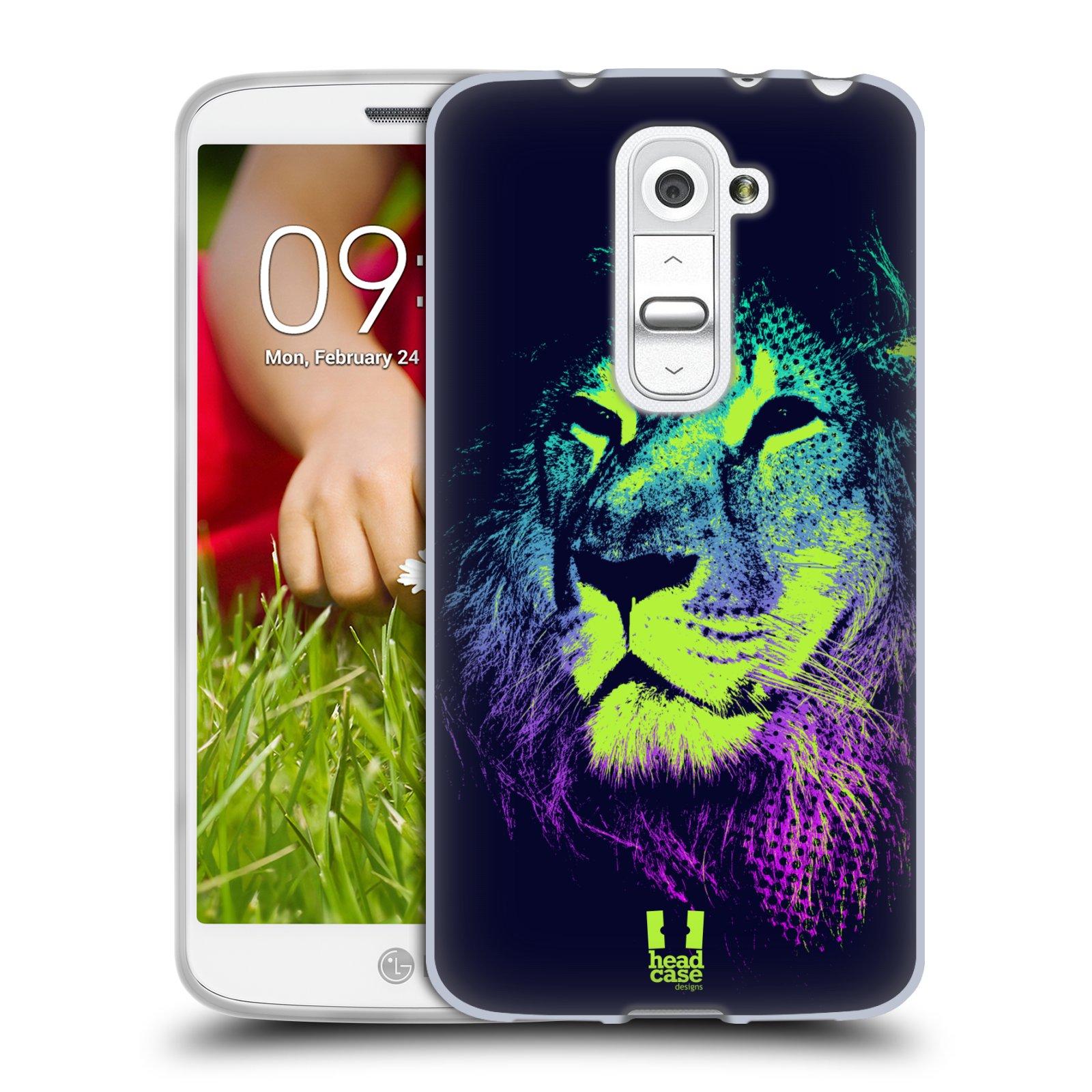 Silikonové pouzdro na mobil LG G2 Mini HEAD CASE POP PRINT LEV (Silikonový kryt či obal na mobilní telefon LG G2 Mini D620)