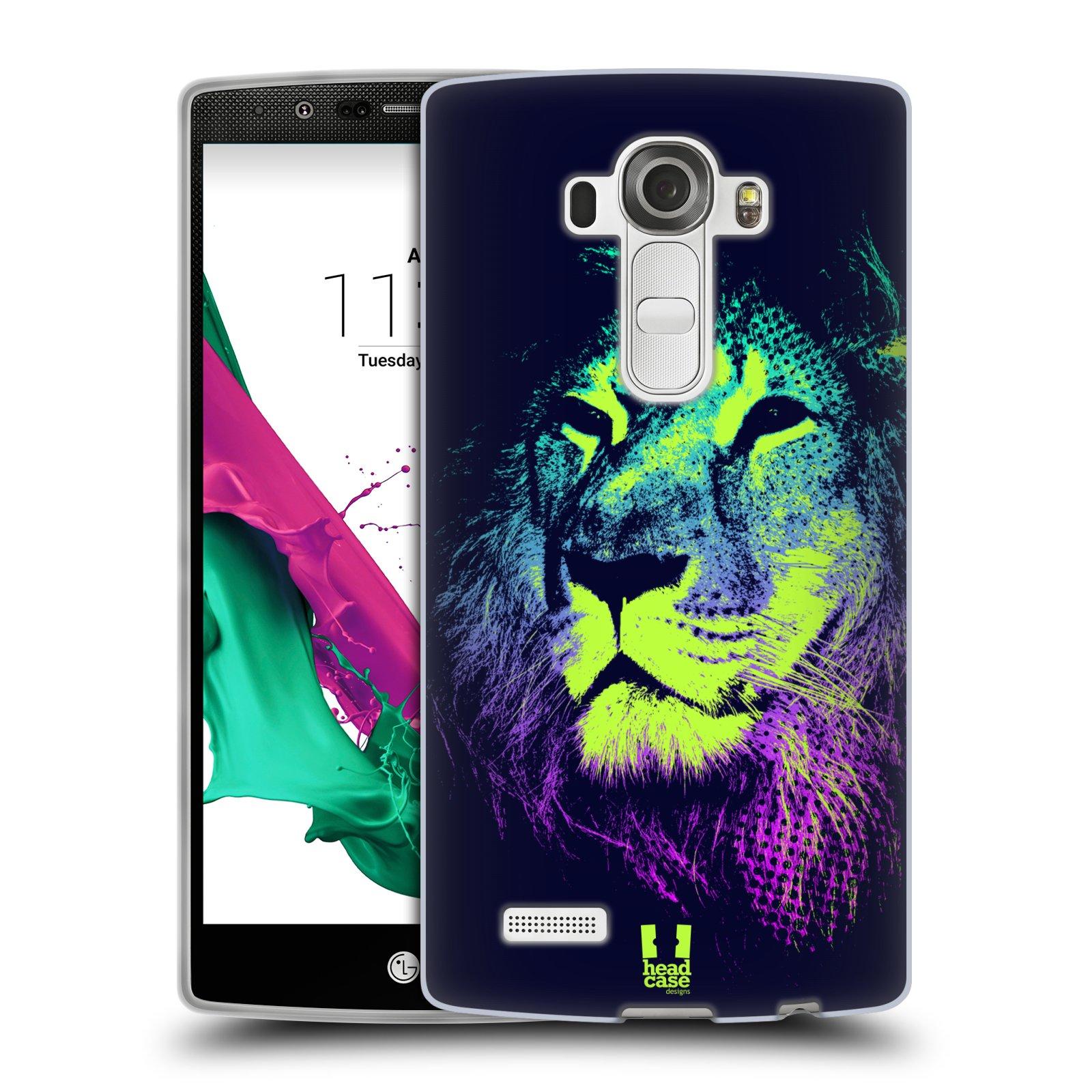 Silikonové pouzdro na mobil LG G4 HEAD CASE POP PRINT LEV (Silikonový kryt či obal na mobilní telefon LG G4 H815)