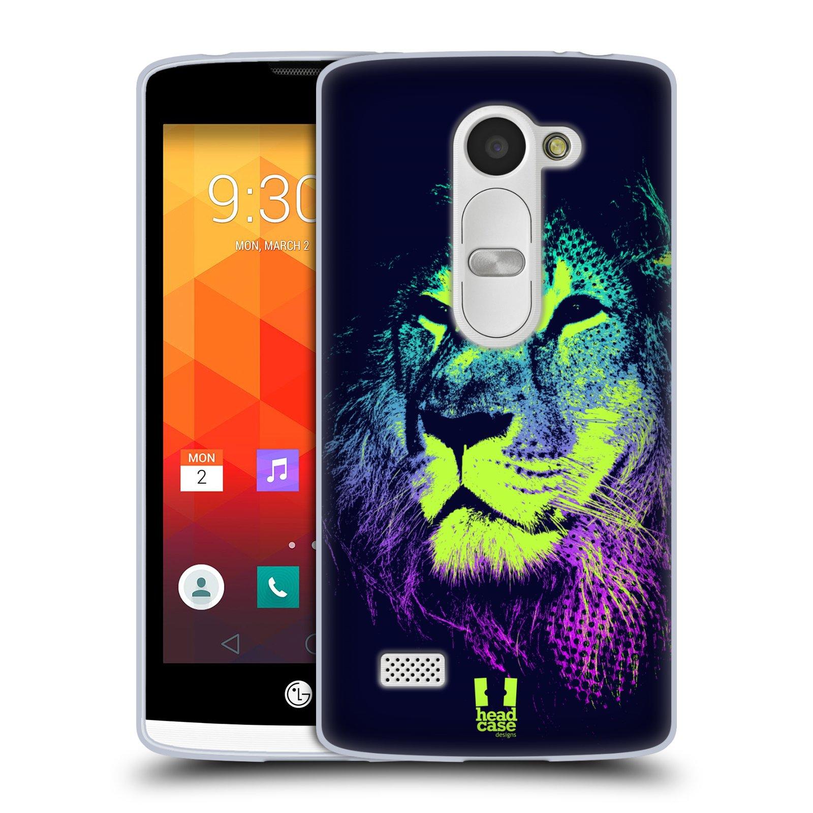 Silikonové pouzdro na mobil LG Leon LTE HEAD CASE POP PRINT LEV (Silikonový kryt či obal na mobilní telefon LG Leon H320 a LG Leon LTE H340N)