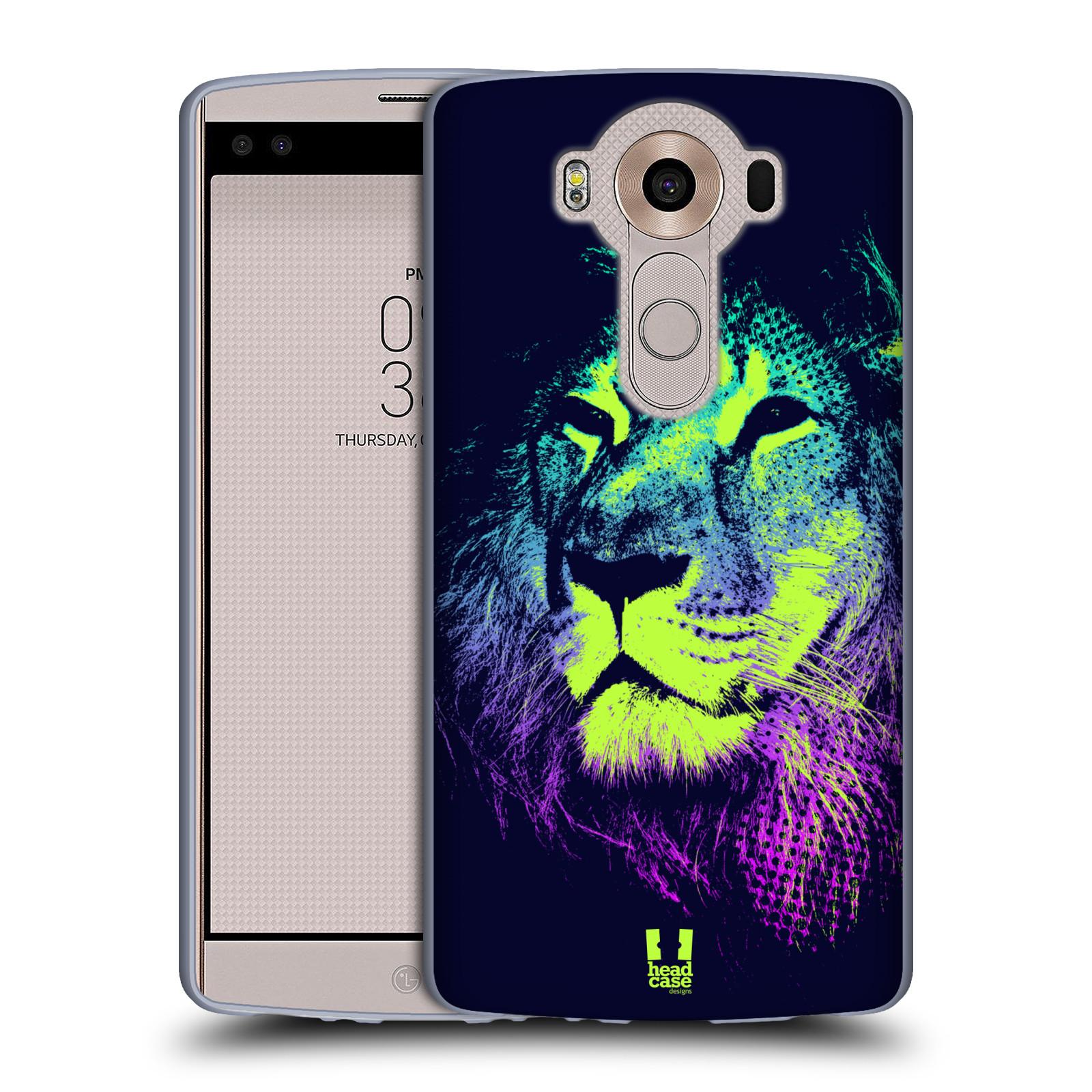 Silikonové pouzdro na mobil LG V10 HEAD CASE POP PRINT LEV (Silikonový kryt či obal na mobilní telefon LG V10 H960 / H960A)